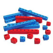 Unifix Letter Cubes (Set of 90)