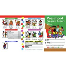 Progress Reports Year Chart (Set of 20)