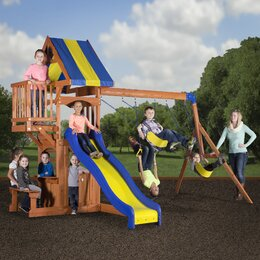 Backyard Play Youll Love Wayfair - Backyard playground equipment