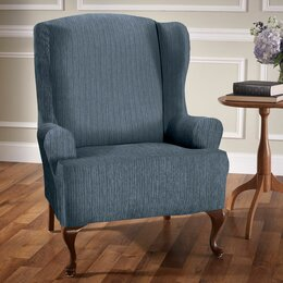 High Quality Wing Chair Slipcovers