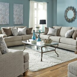 Sofas  Sectionals Youll Love Wayfair - Wayfair living room sets