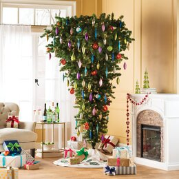 upside down christmas trees - Fully Decorated Christmas Trees For Sale