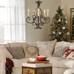 modern living room ceiling lights. Mini Chandeliers  Ceiling Fans Lights You ll Love Wayfair