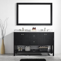 double vanity sinks for small bathrooms. Double Vanities  Bathroom Sale You ll Love Wayfair