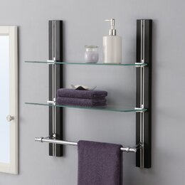 bathroom storage. Bathroom Wall Shelves Storage  Organization You ll Love Wayfair