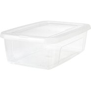 Clear Storage Box (Set of 4)