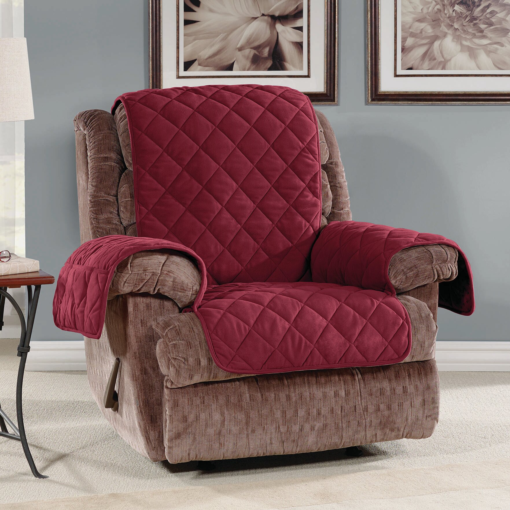 sure fit recliner slipcover reviews wayfair