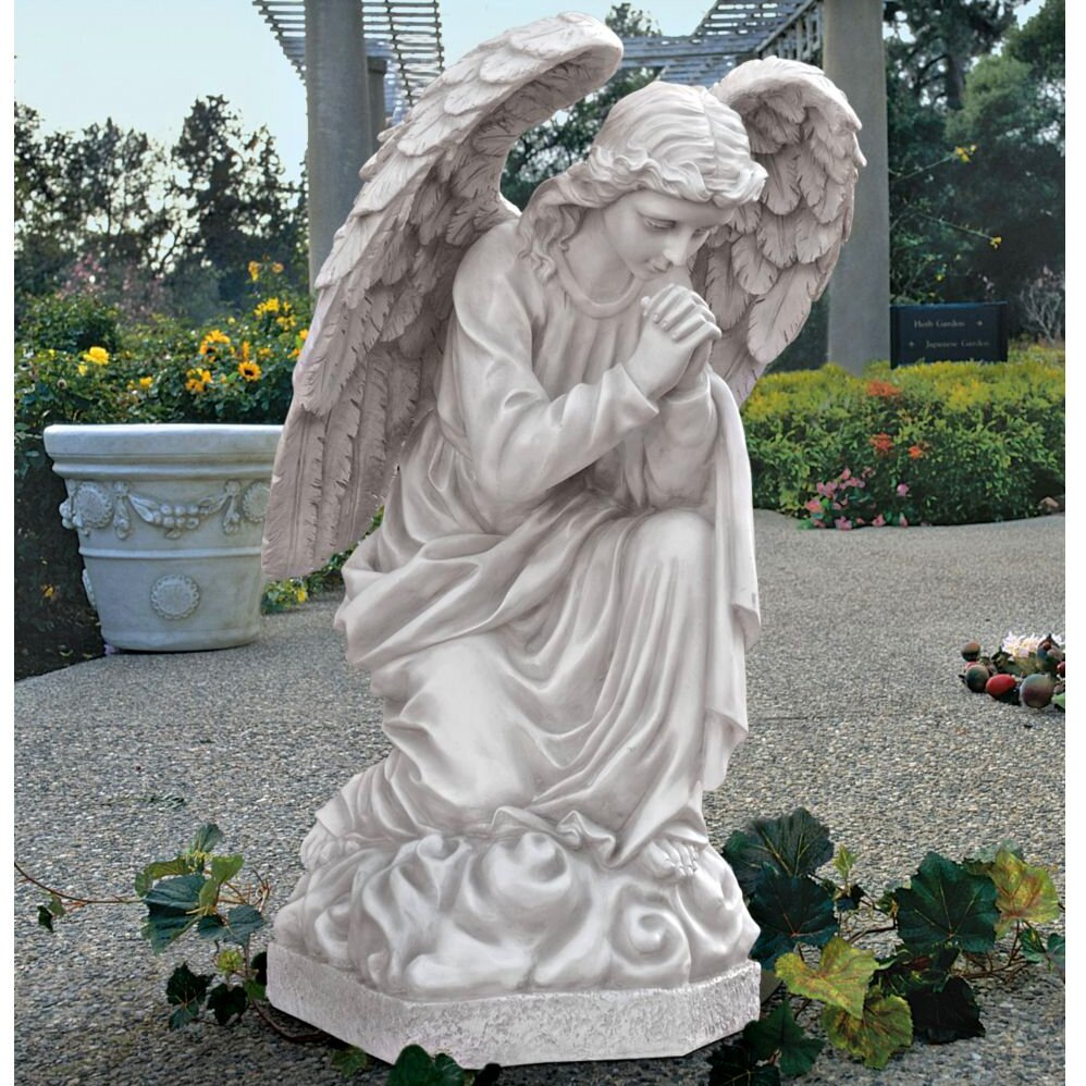 Design Toscano The Praying Basilica Angel Statue Reviews Wayfair