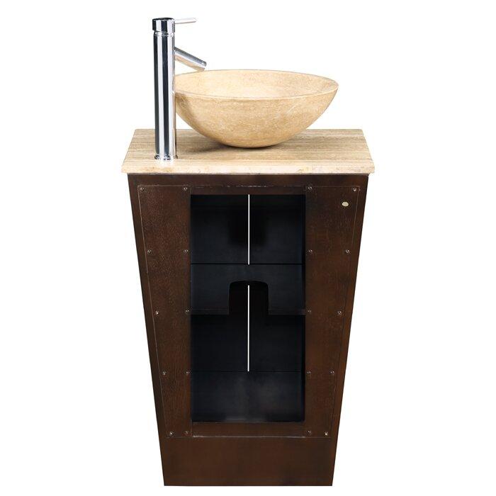 Silkroad Exclusive Bennington 22 quot  Single Bathroom Vanity Set. Silkroad Exclusive Bennington 22  Single Bathroom Vanity Set