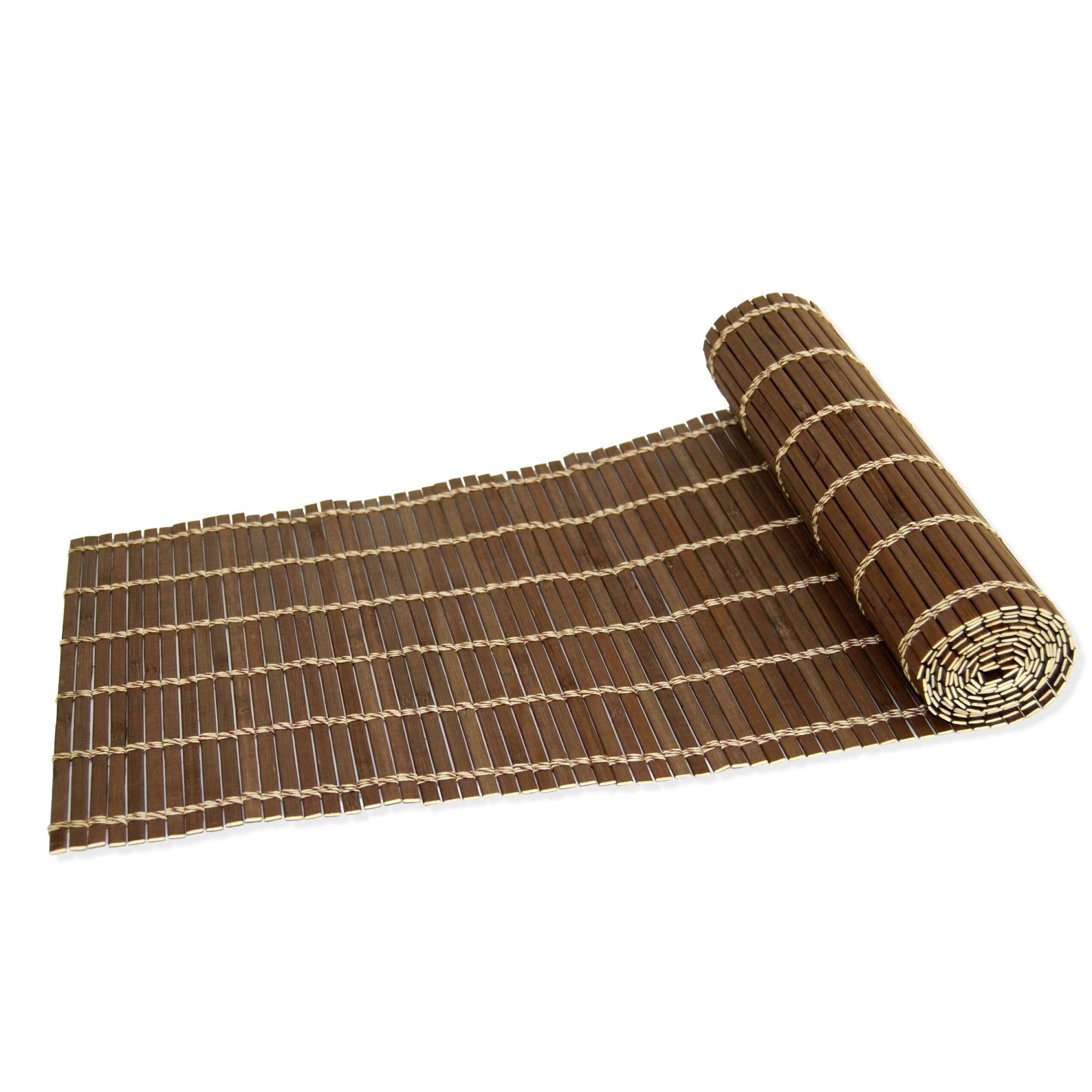 Bamboo table runner - Versailles Home Fashions Cameron Bamboo Table Runner