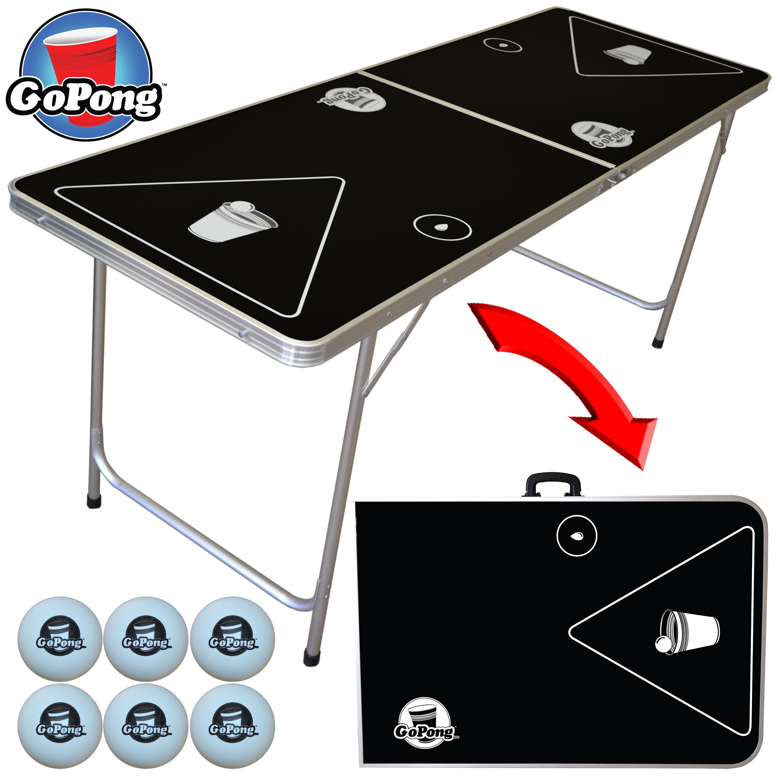 goPong cheap beer pong table under $100