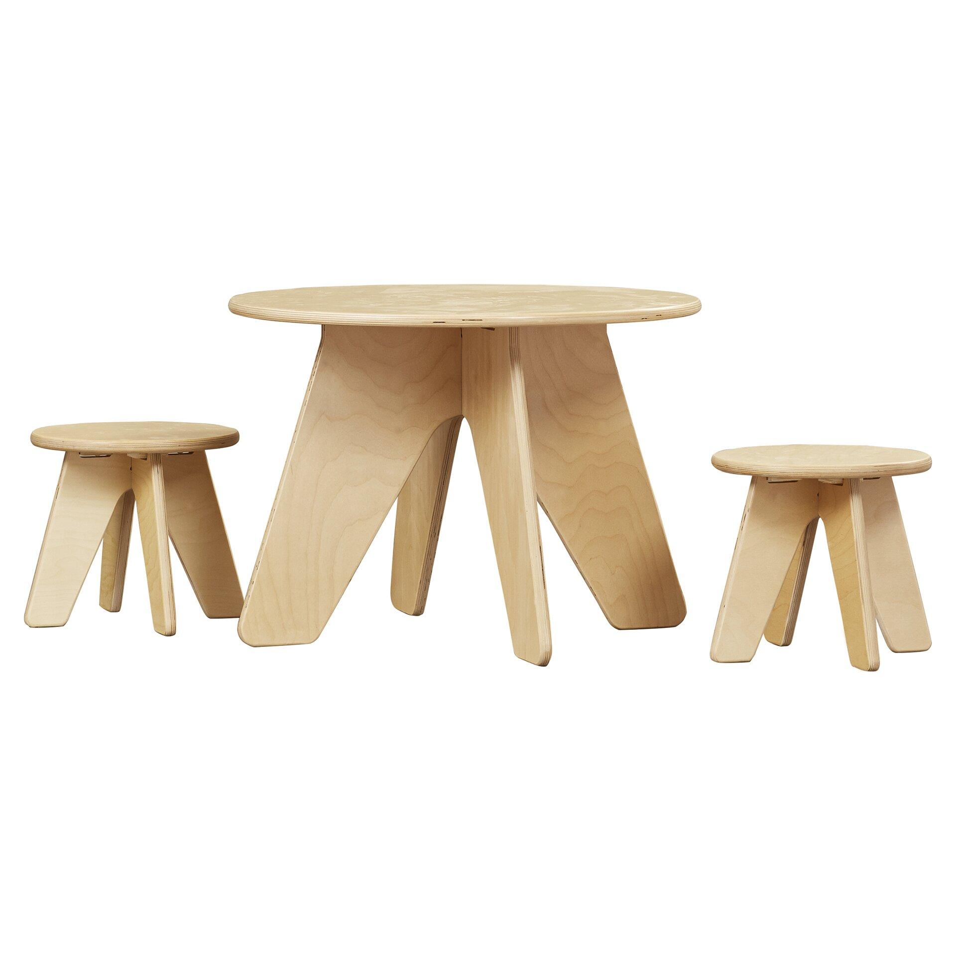 Table Set For Kids Modern Kids Table Chair Sets Allmodern