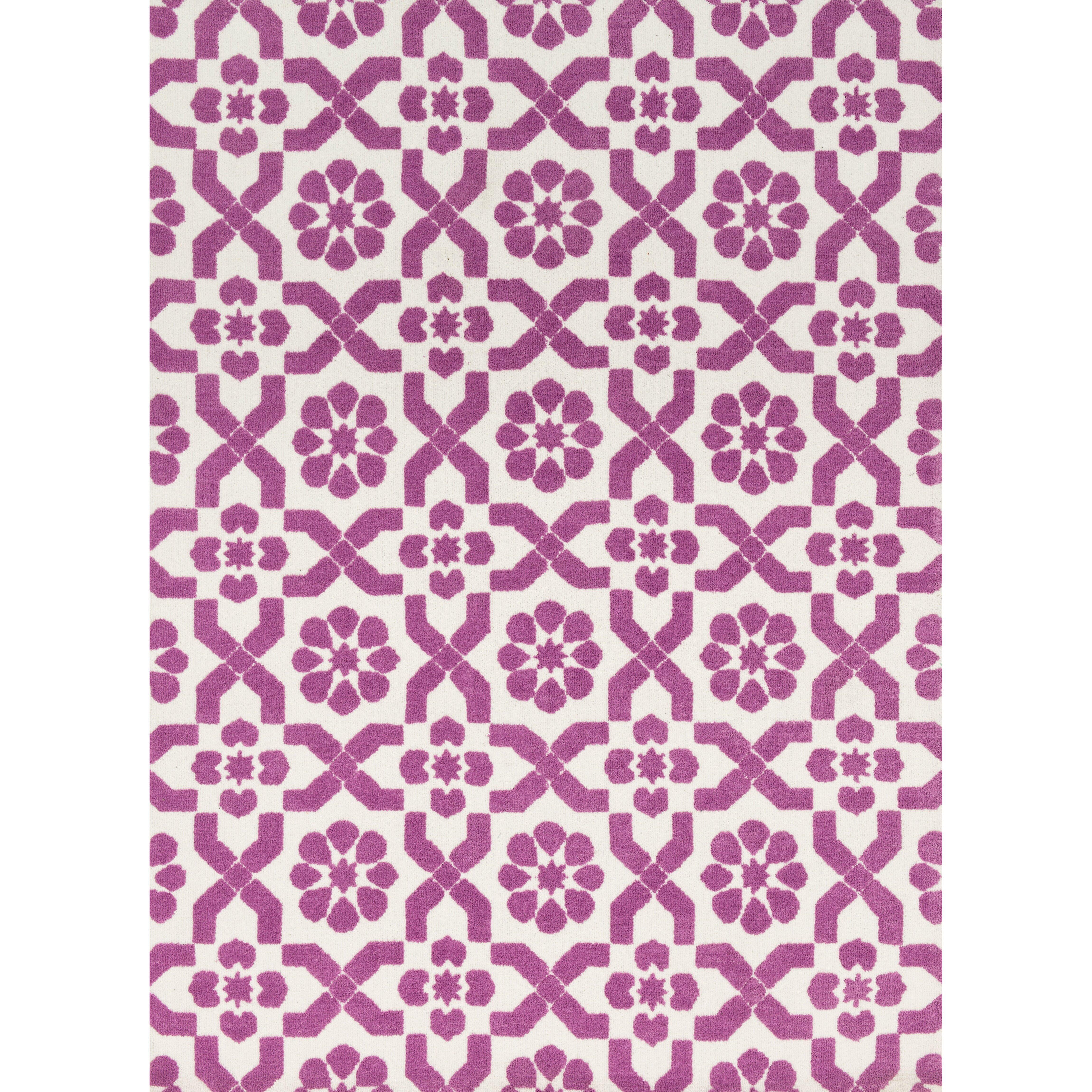 Perfect Loloi Rugs Piper Light Purple/Ivory Fairies Area Rug