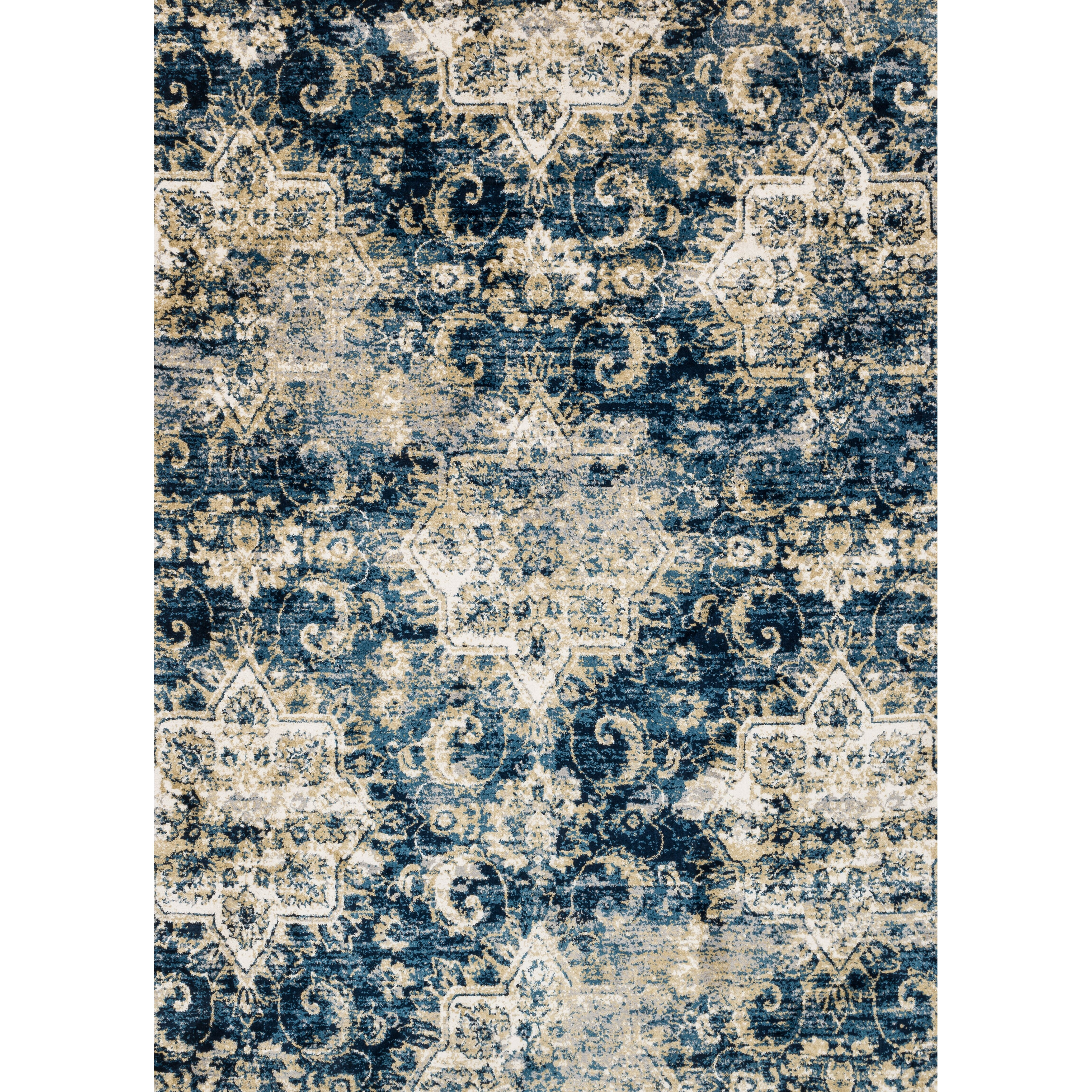 Navy And Ivory Rug Roselawnlutheran