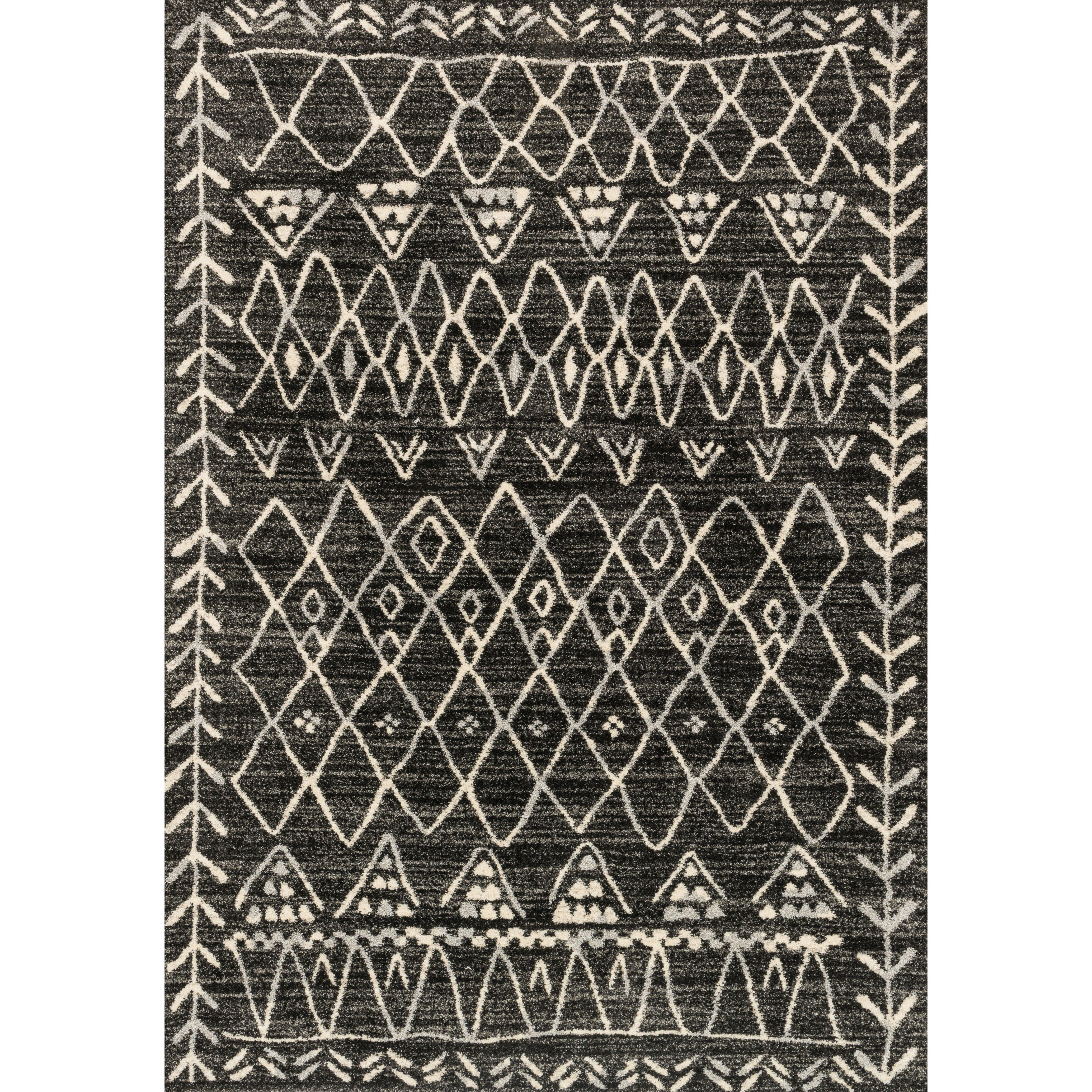 High Quality Loloi Rugs Emory Black Ivory Area Rug Reviews Wayfair