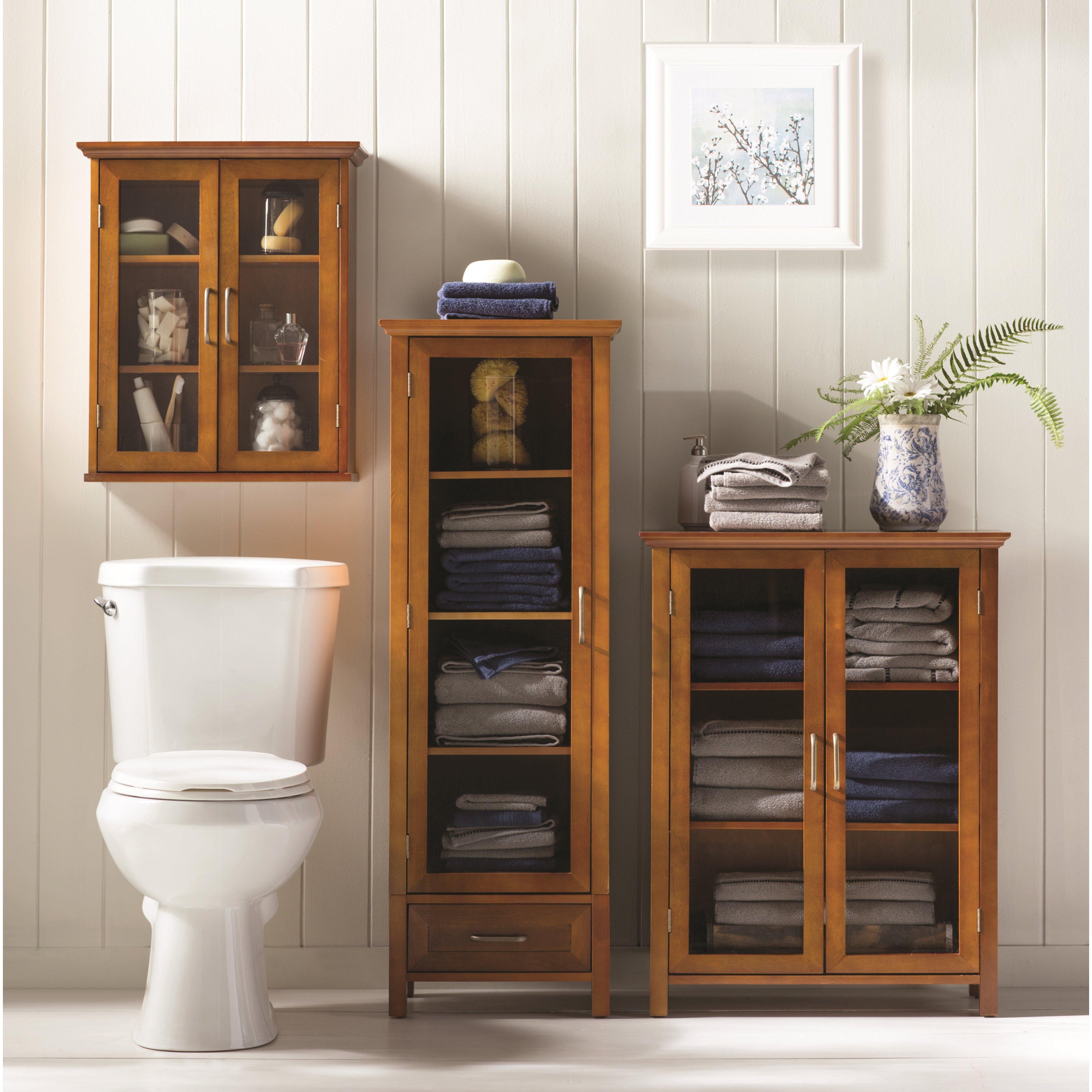 Elegant Home Fashions Avery 20 5 quot  W x 24 quot. Elegant Home Fashions Avery 20 5  W x 24  H Wall Mounted Cabinet