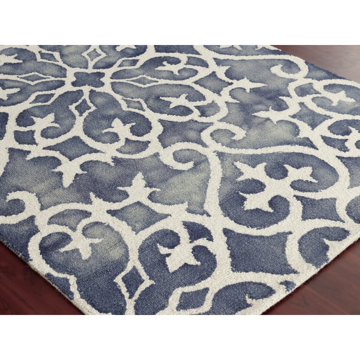 Amer Rugs Blue White Area Rug Amp Reviews Wayfair