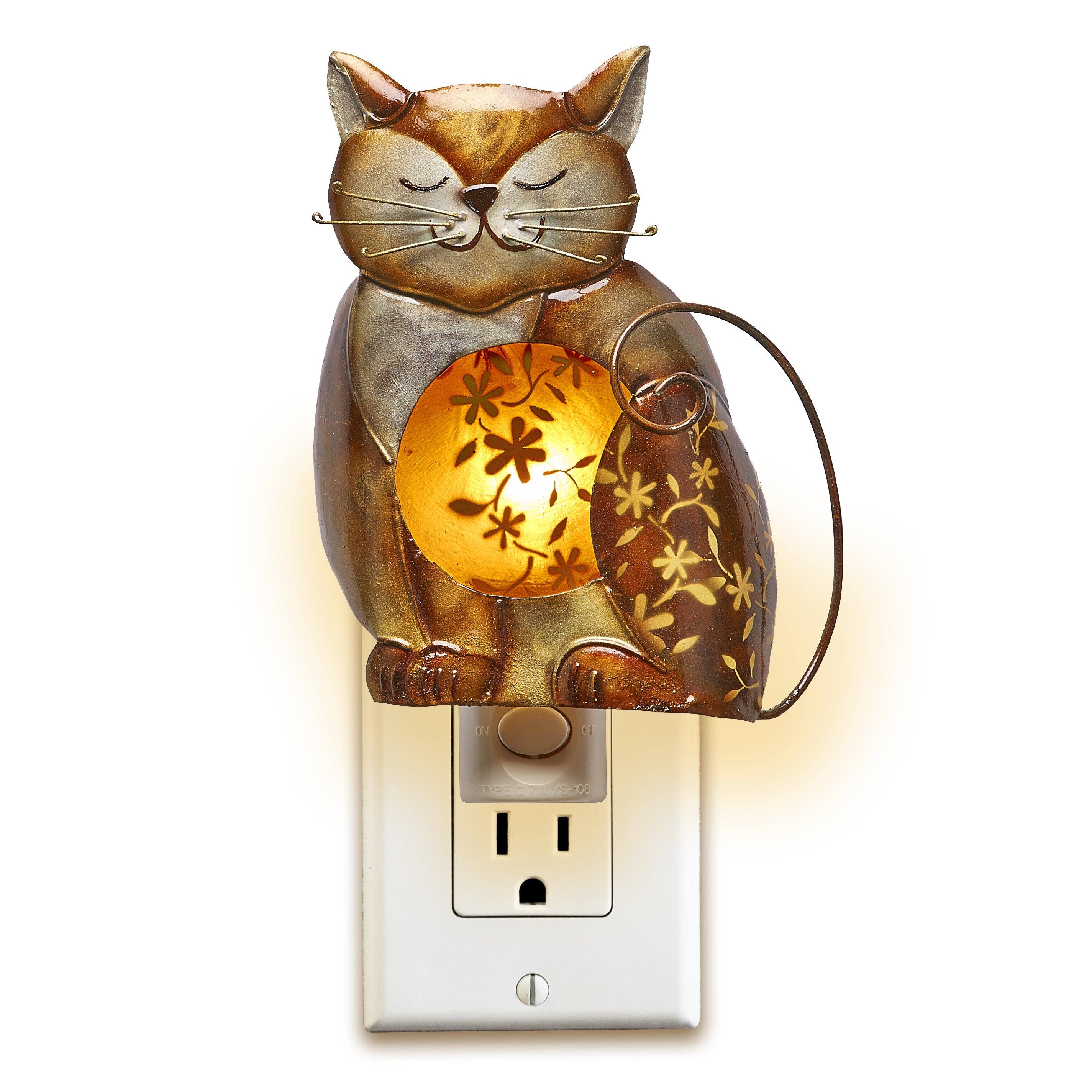 Automatic night lights decorative - Decobreeze Decor Cat Night Light