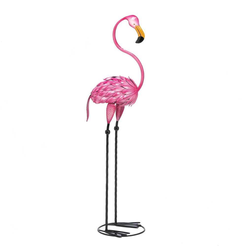 flamingo garden statue large flamingo statue - walking - outdoor