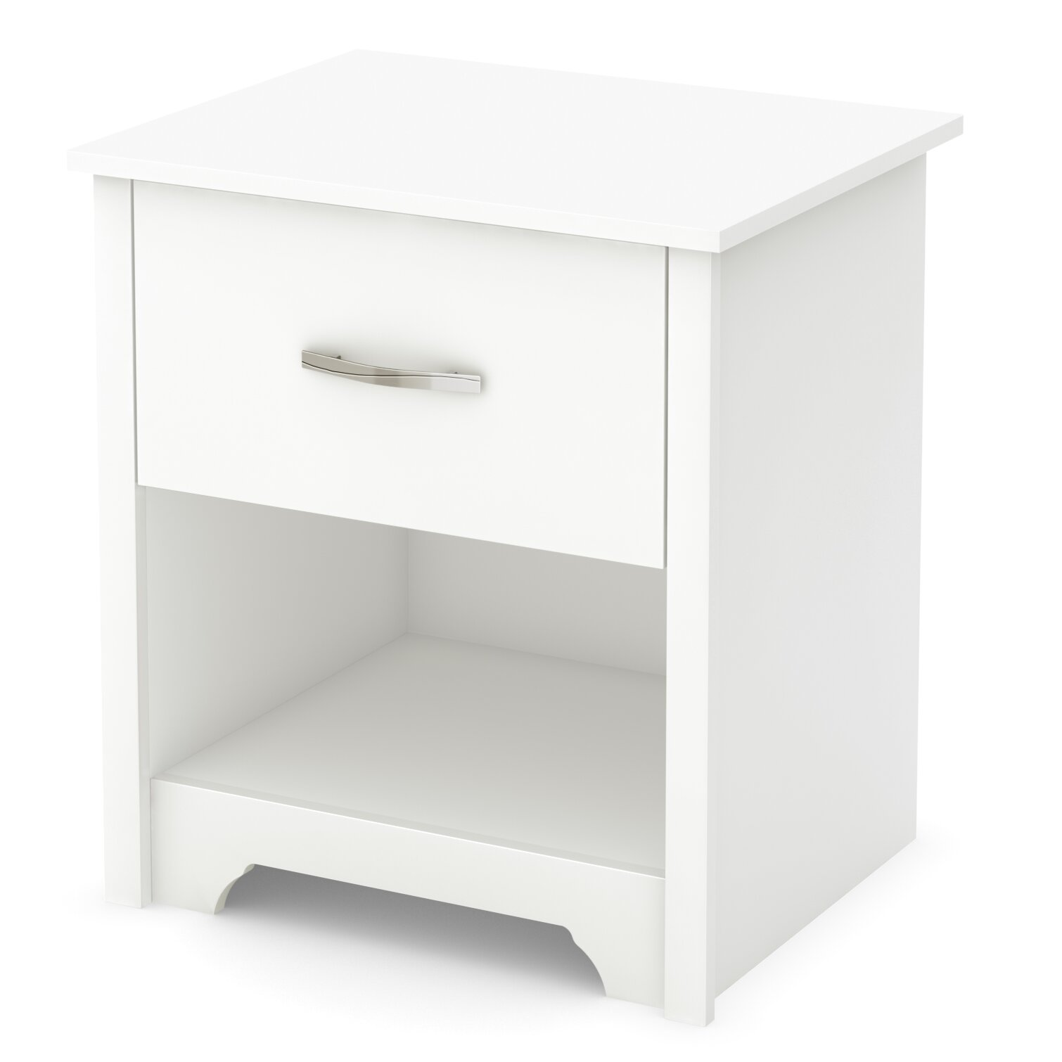 August Grove Gilby 1 Drawer Nightstand Reviews Wayfair
