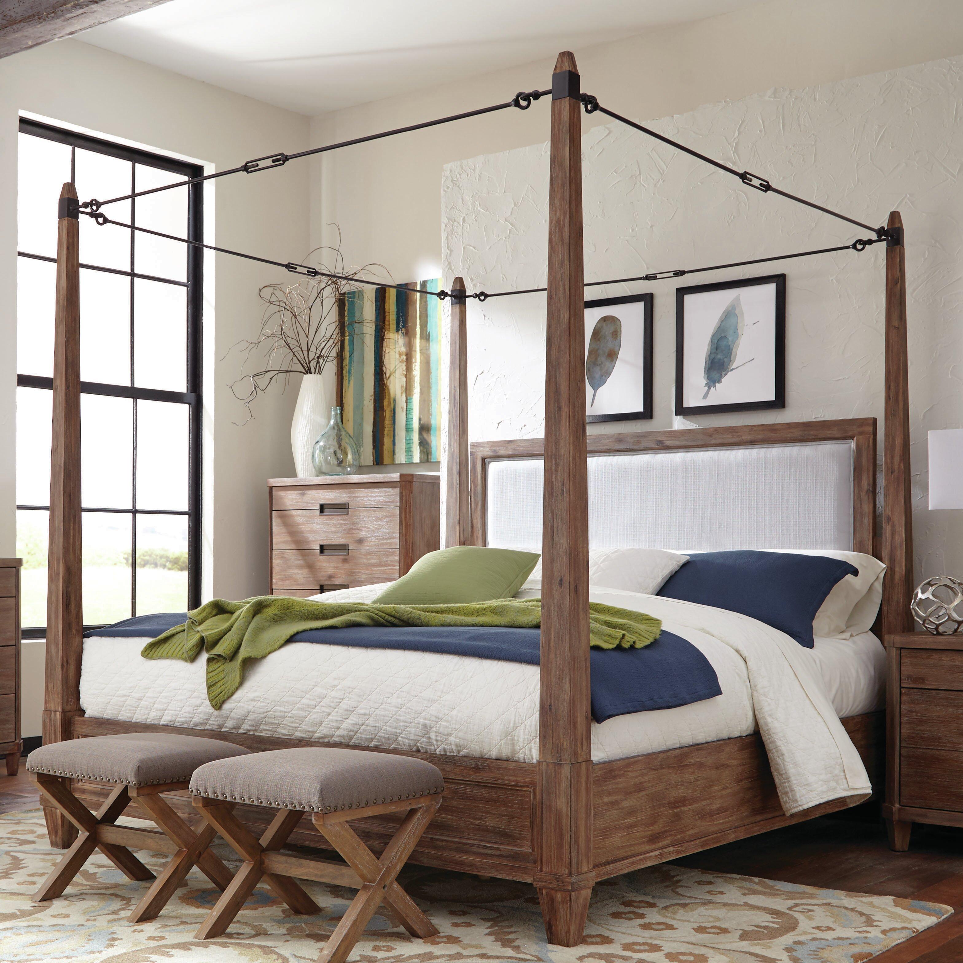 Donny Osmond Home Madeleine Upholstered Canopy Bed. Donny Osmond Madeleine Upholstered Canopy Bed   Reviews   Wayfair