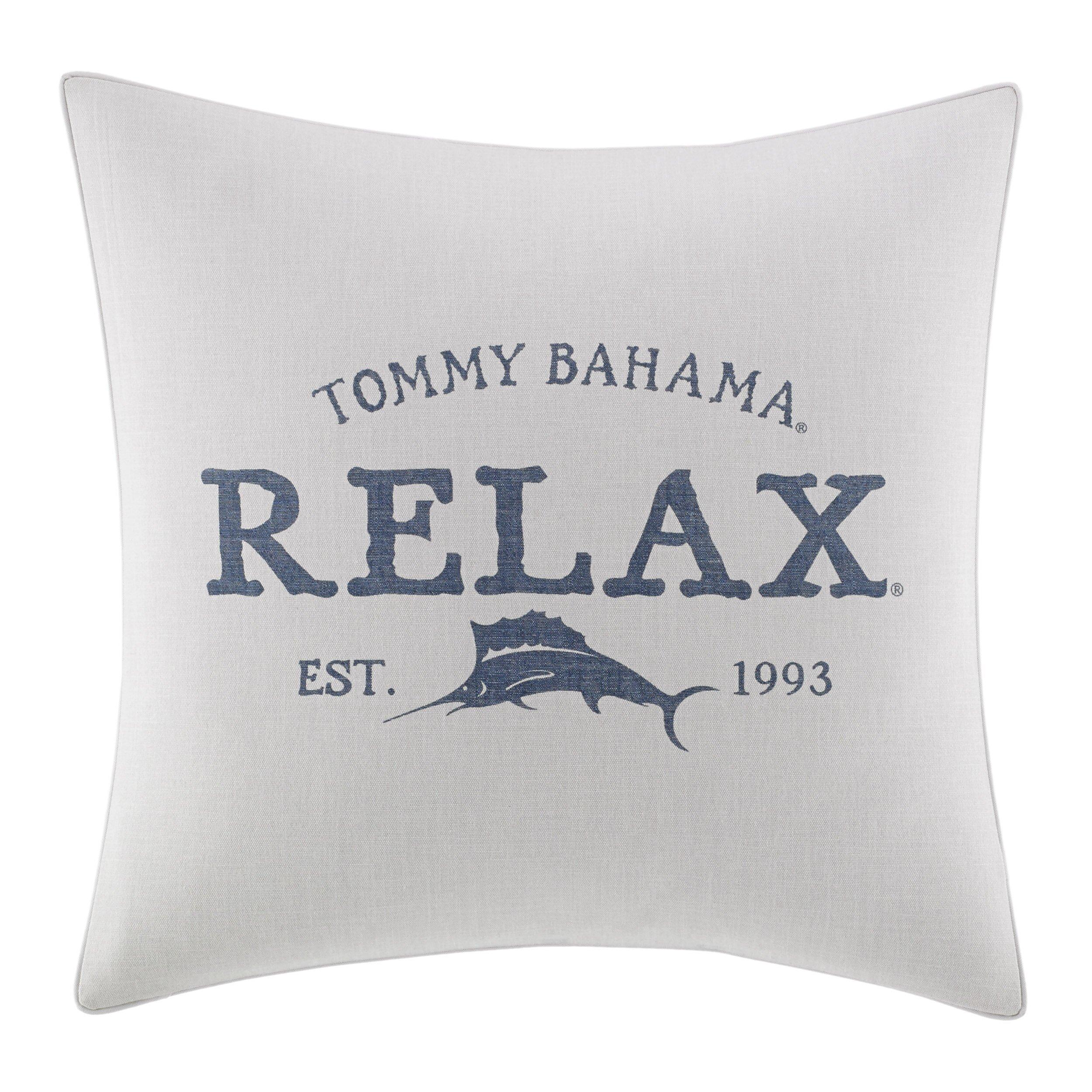 Throw Pillows That Say Relax : Raw Coast Relax Throw Pillow & Reviews Joss & Main