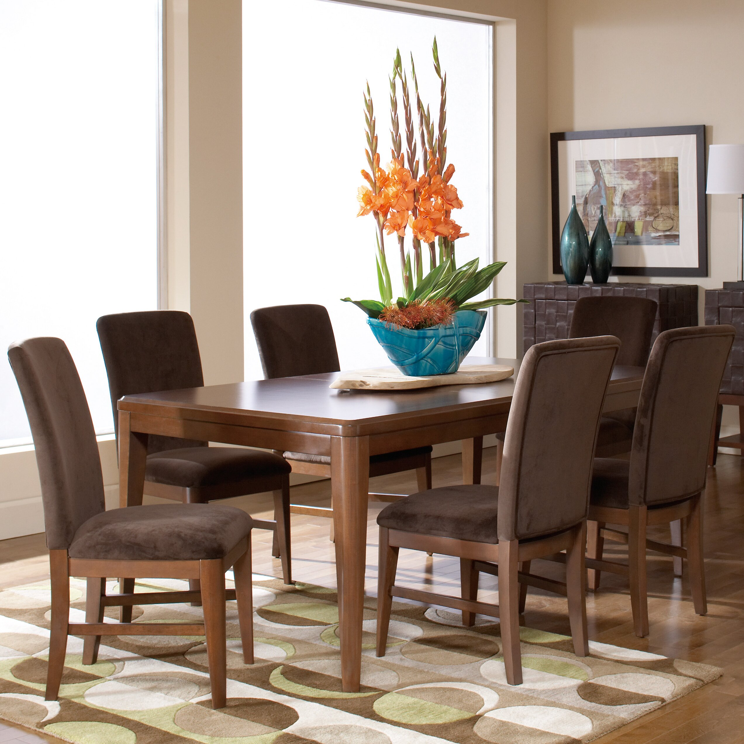 Woodhaven Living Room Furniture Woodhaven Hill Beaumont 7 Piece Dining Set Wayfairca