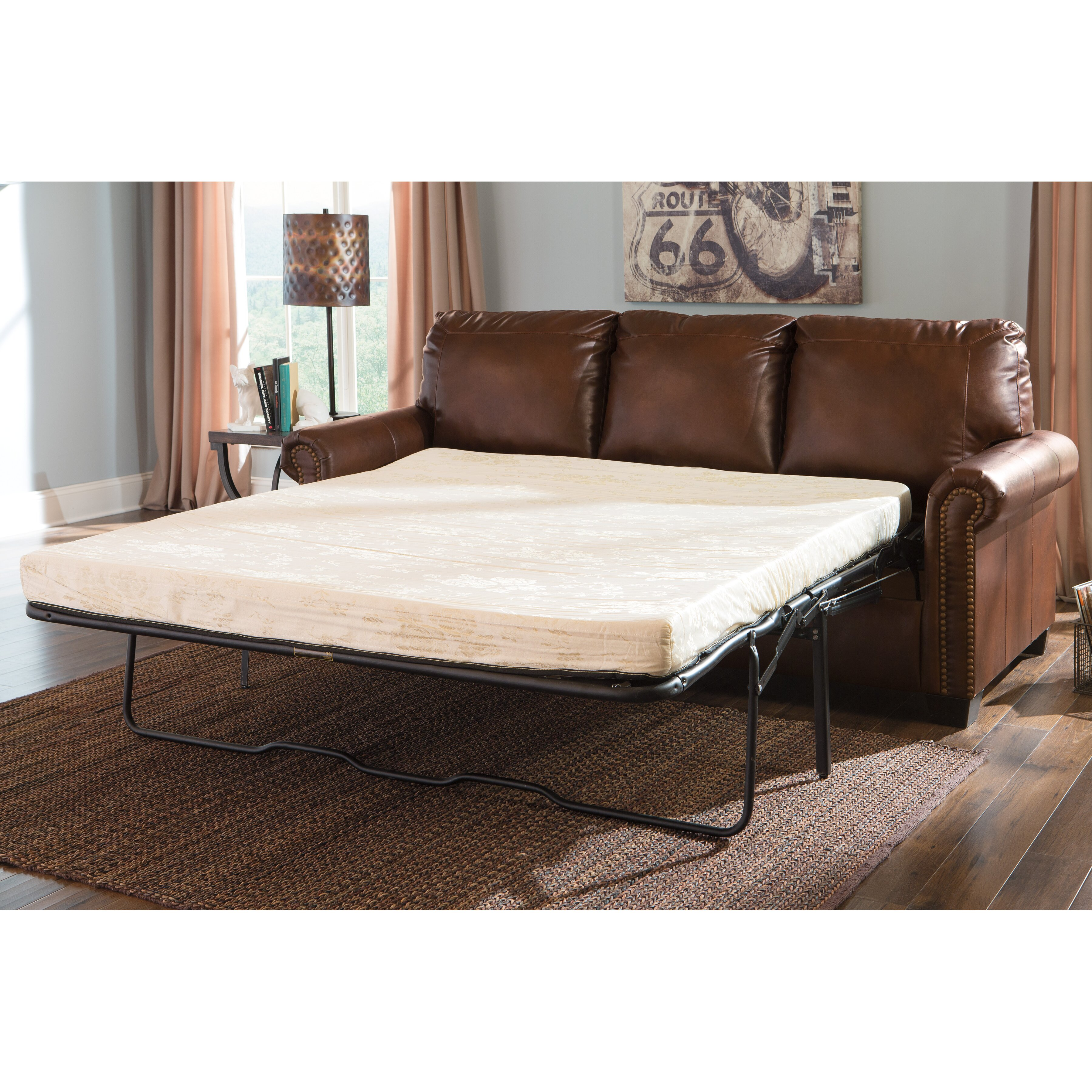 Ashley Furniture Leather Sofa Reviews Full Size Of Sleeper Queen