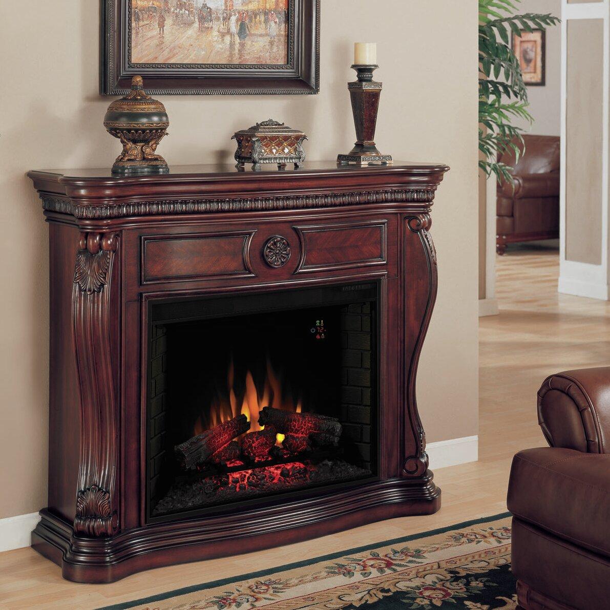Classic Flame Lexington Electric Fireplace Mantel Surround - Classic Flame Lexington Electric Fireplace Mantel Surround