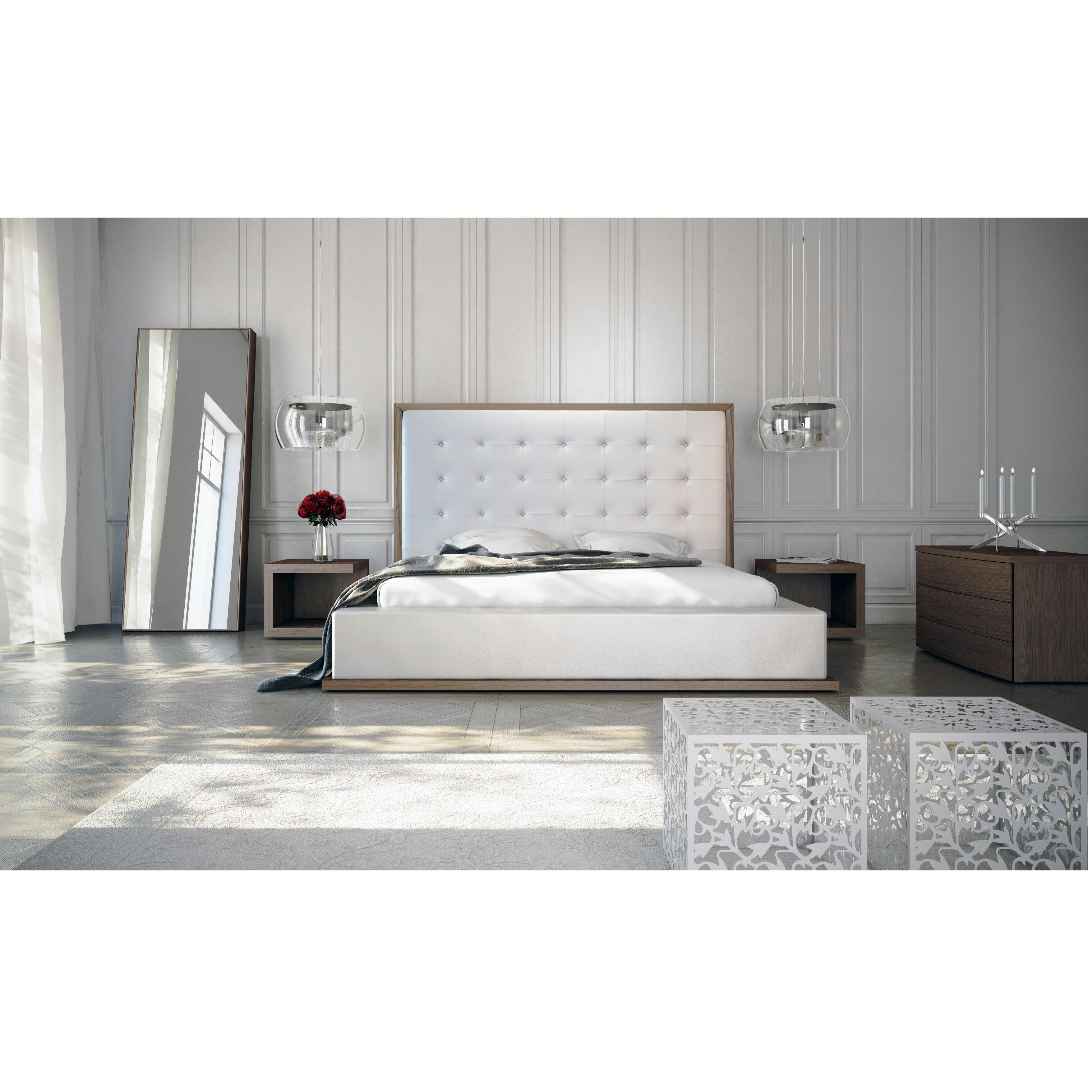 Modloft Ludlow Platform Customizable Bedroom Set. Ludlow Platform Customizable Bedroom Set   Reviews   AllModern