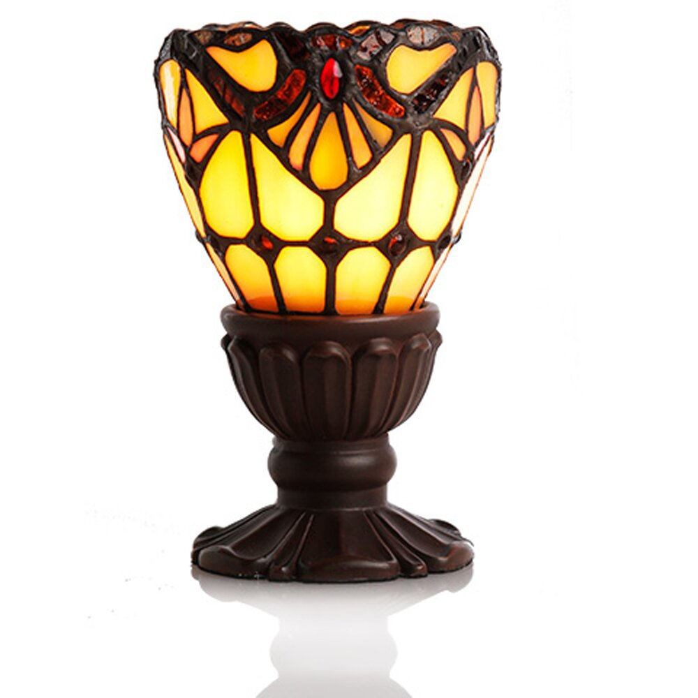 Matching floor and table lamps - Allistar Light Of Remembrance Tiffany Style Stained Glass 6 5 Table Lamp