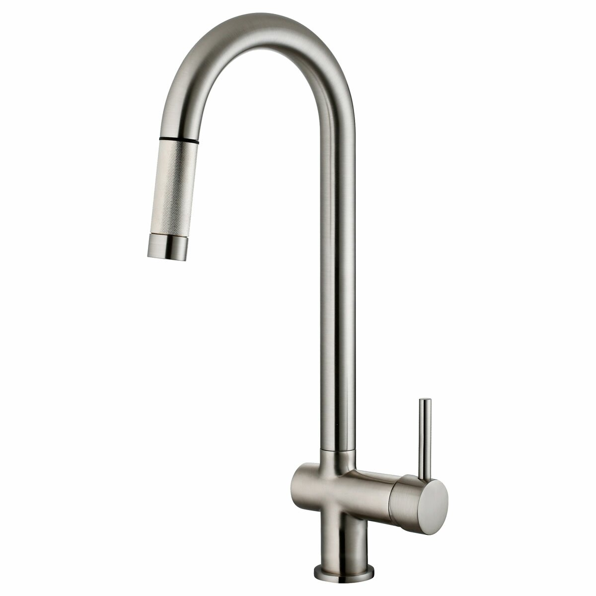 Kitchen Pull Down Faucet Lesscare Single Handle Pull Down Kitchen Faucet Reviews Wayfair