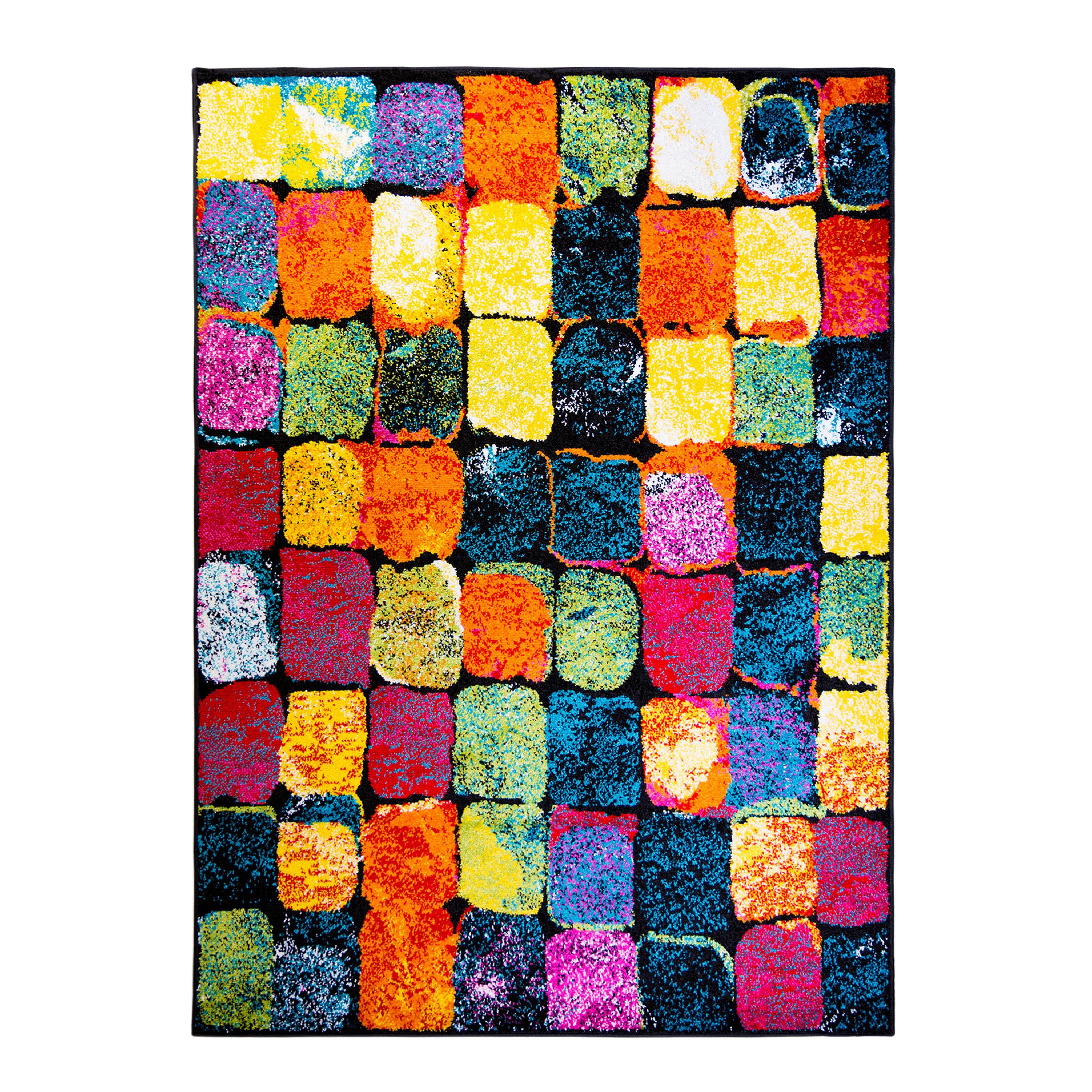 Multi Colored Area Rug Roselawnlutheran