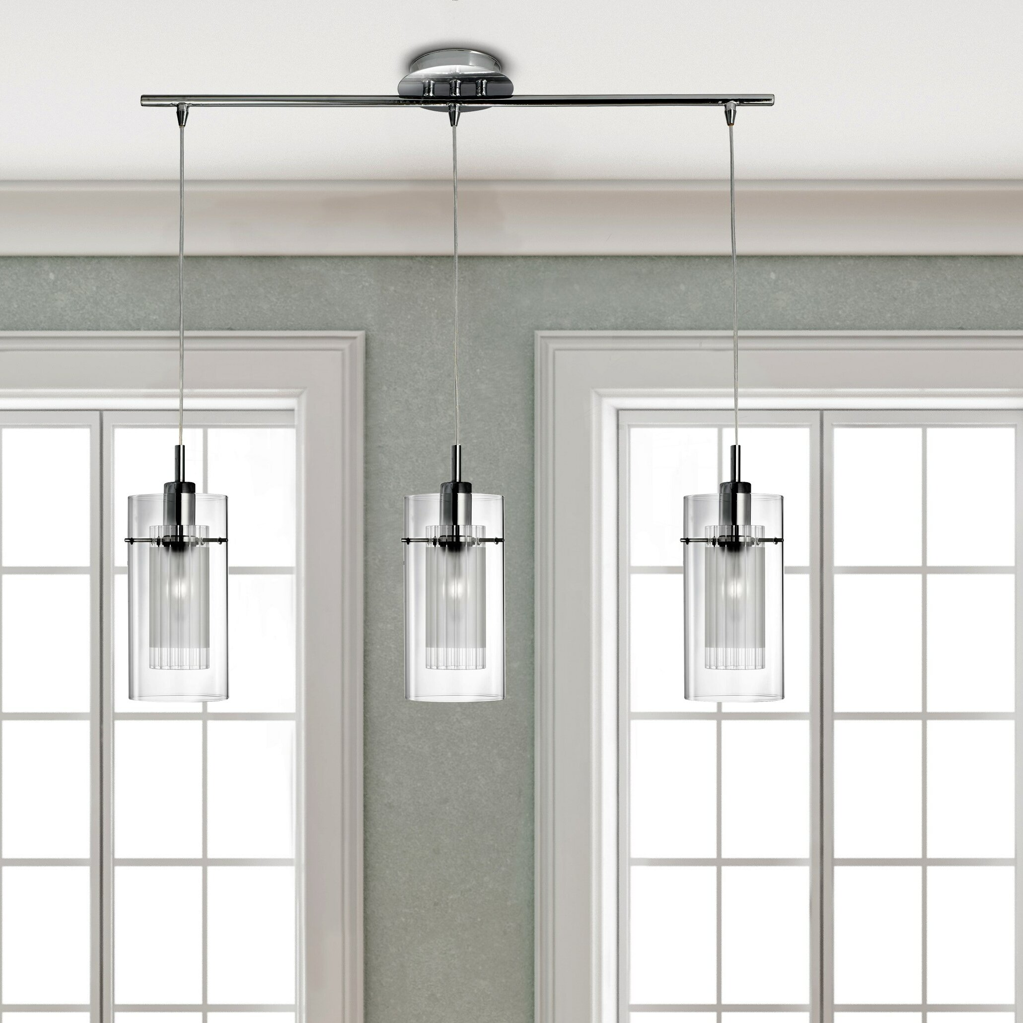 Pendant Kitchen Island Lights Kitchen Island Pendants Wayfaircouk