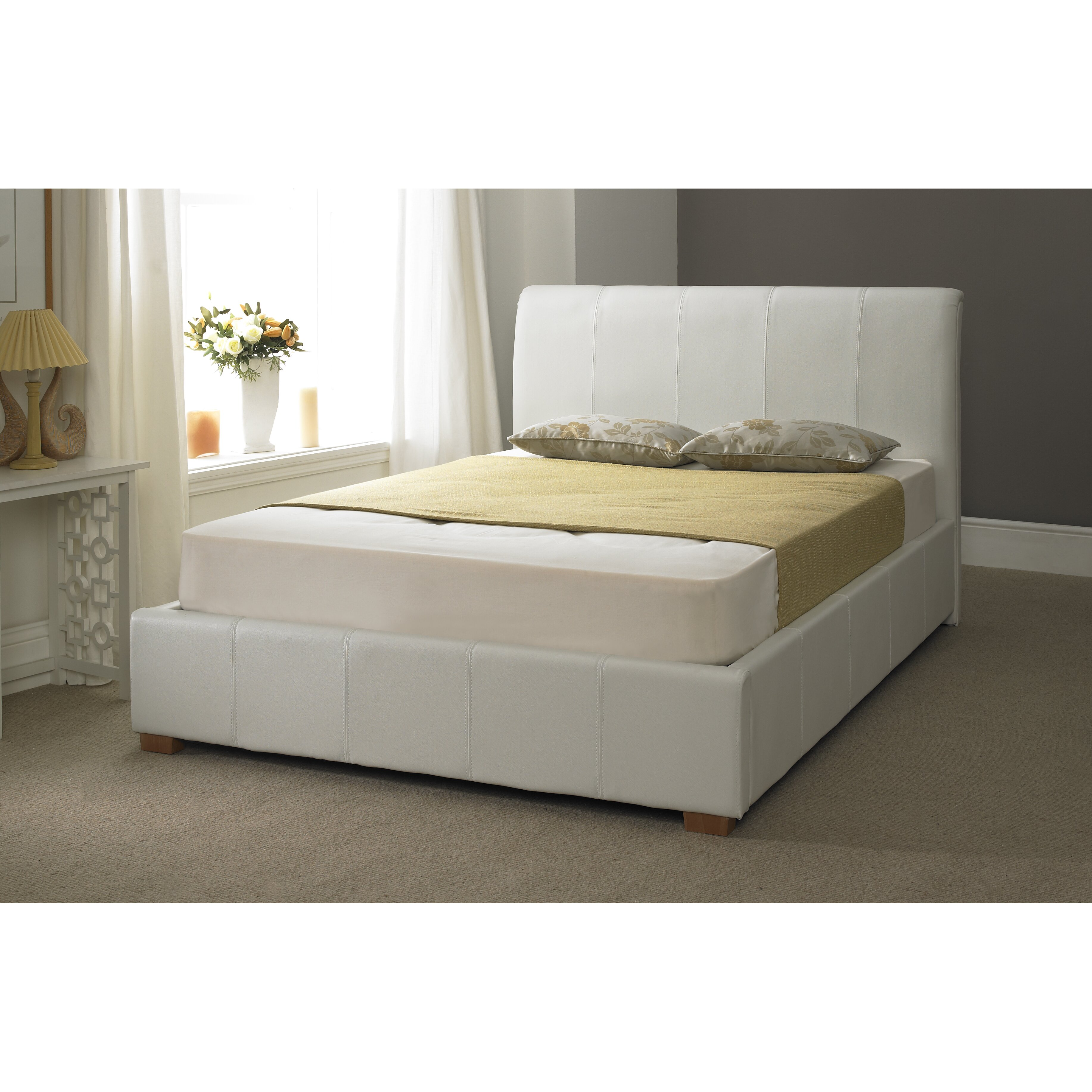 Ottoman Bedroom Home Haus Ryan Upholstered Ottoman Bed Frame Reviews Wayfair