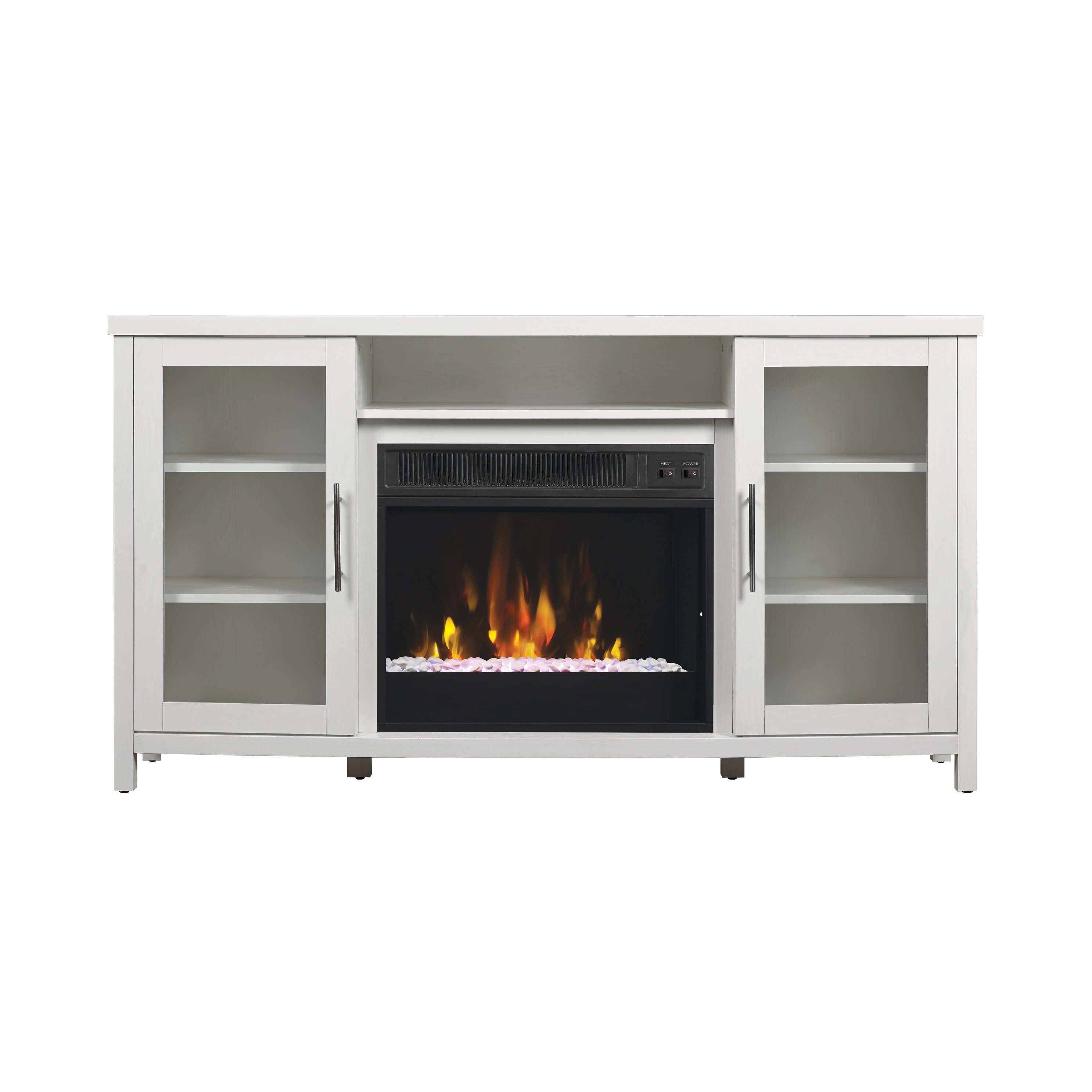 Fireplaces Tv Stands Junsaus Tv Fireplace Stand ~ dact.us