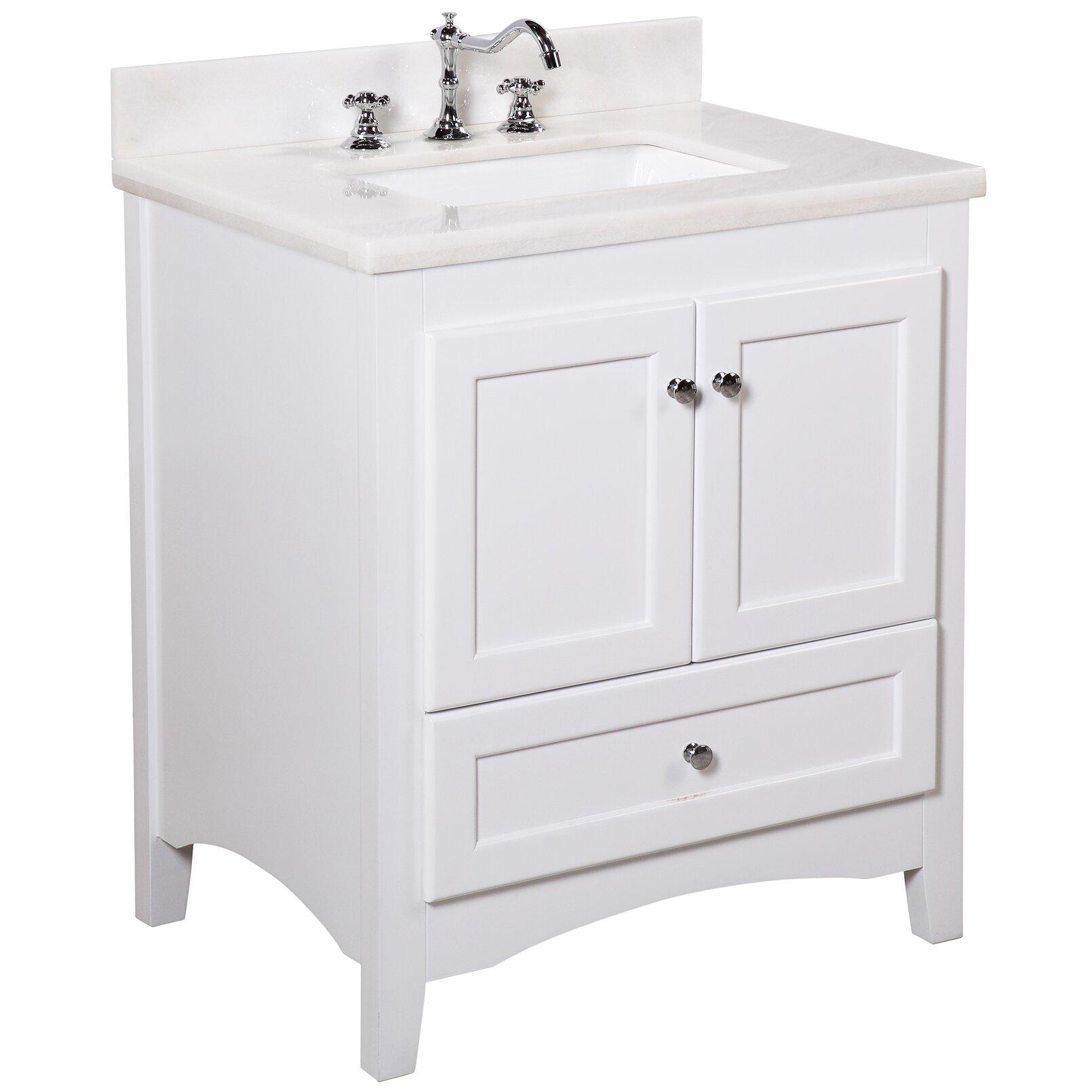 Bathroom Vanity Set Kbc Abbey 30 Single Bathroom Vanity Set Reviews Wayfair