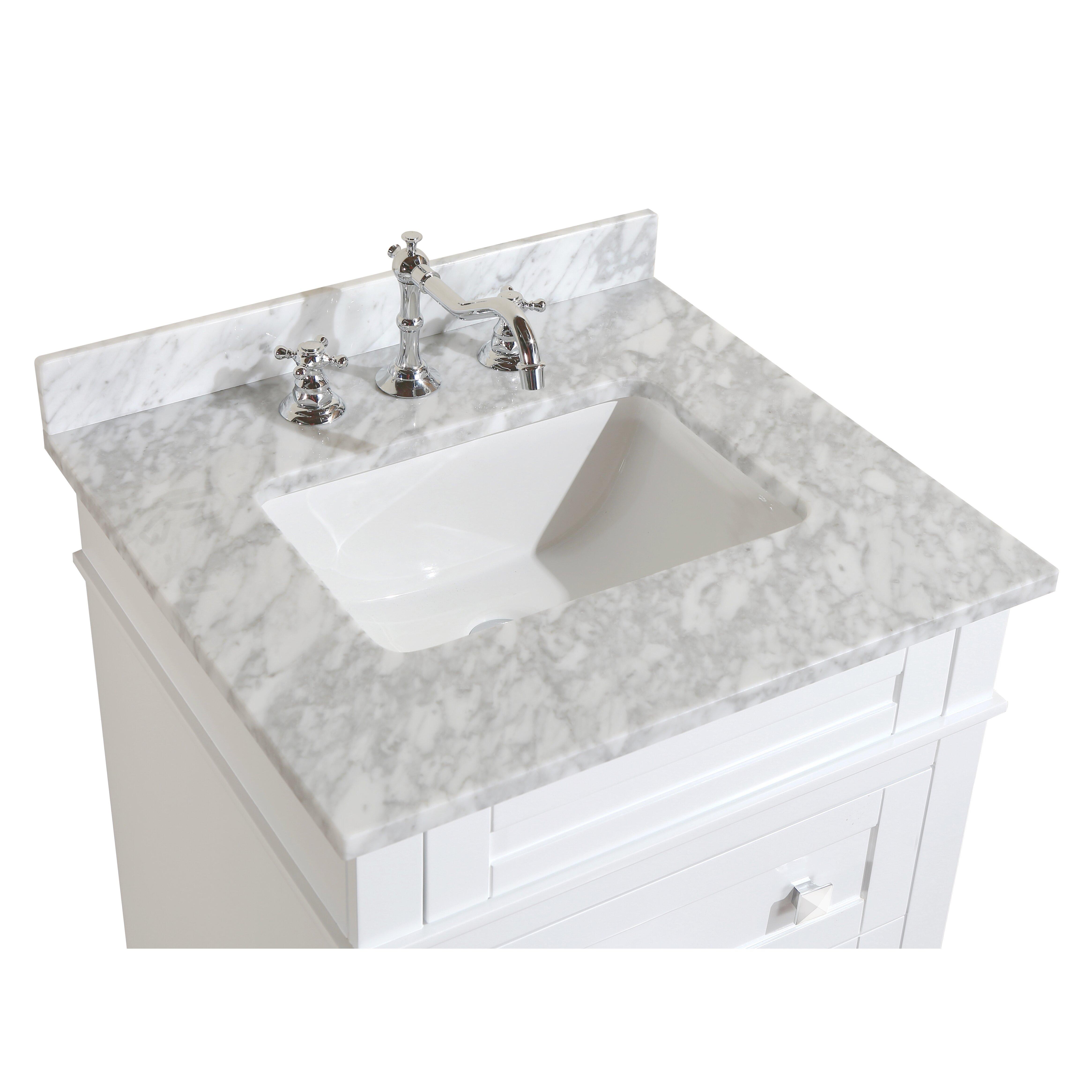 Bathroom Vanity Set Kbc Eleanor 24 Single Bathroom Vanity Set Reviews Wayfair