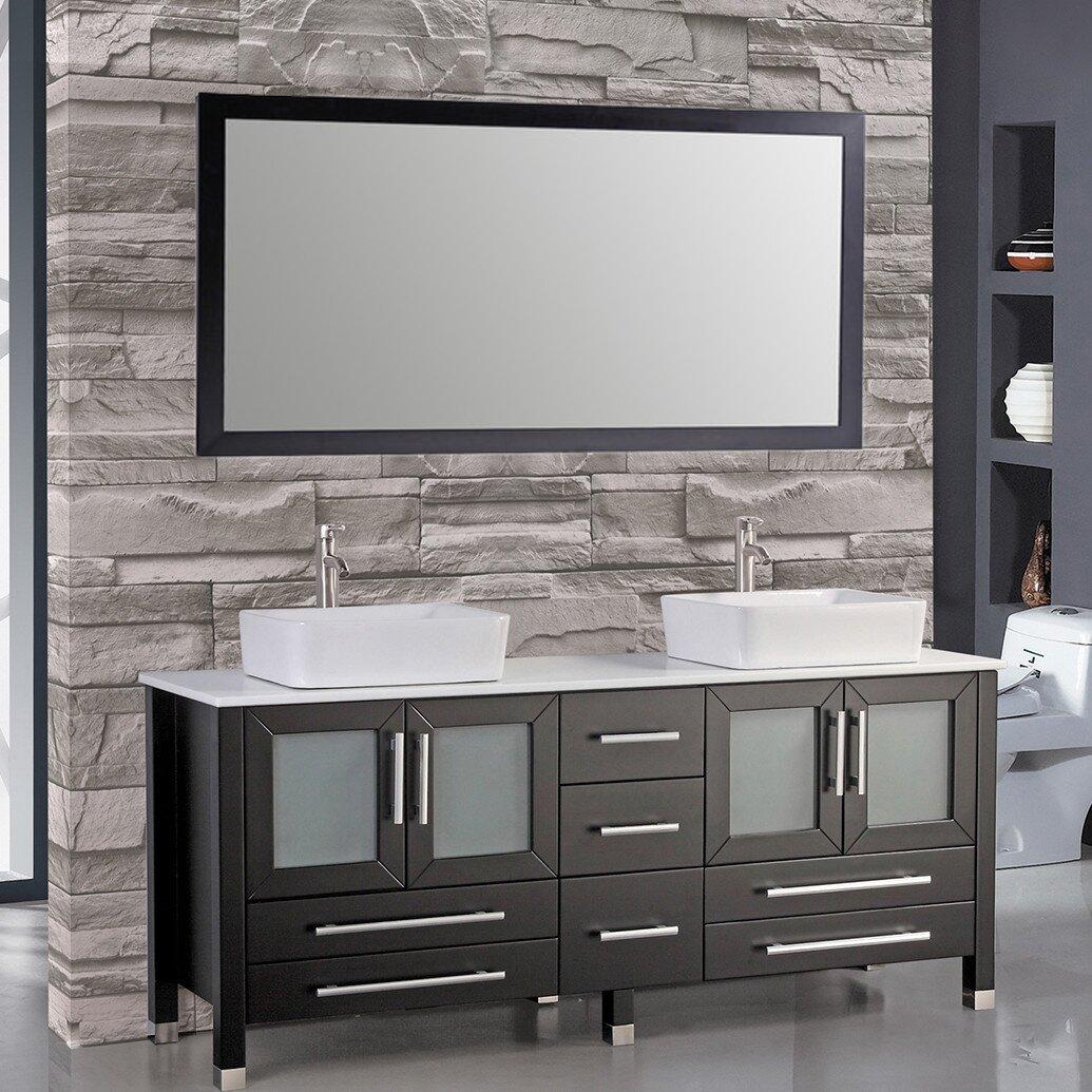 taliyah 72 double sink bathroom vanity set reviews joss main