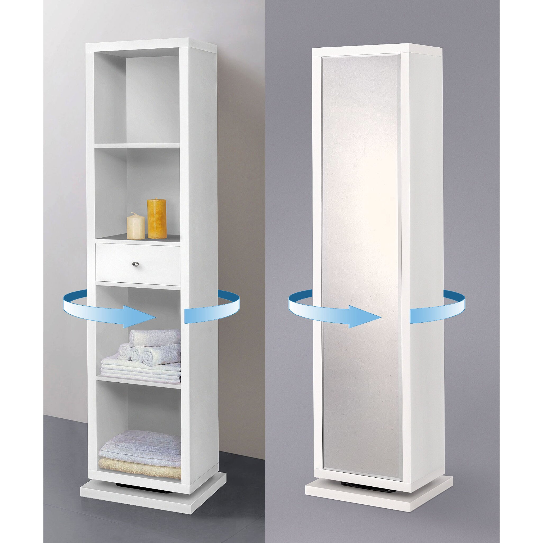 Linen tower cabinets bathroom - Rustic Linen Cabinet Bella Home Deluxe 17 25 W X 71 H Linen Tower