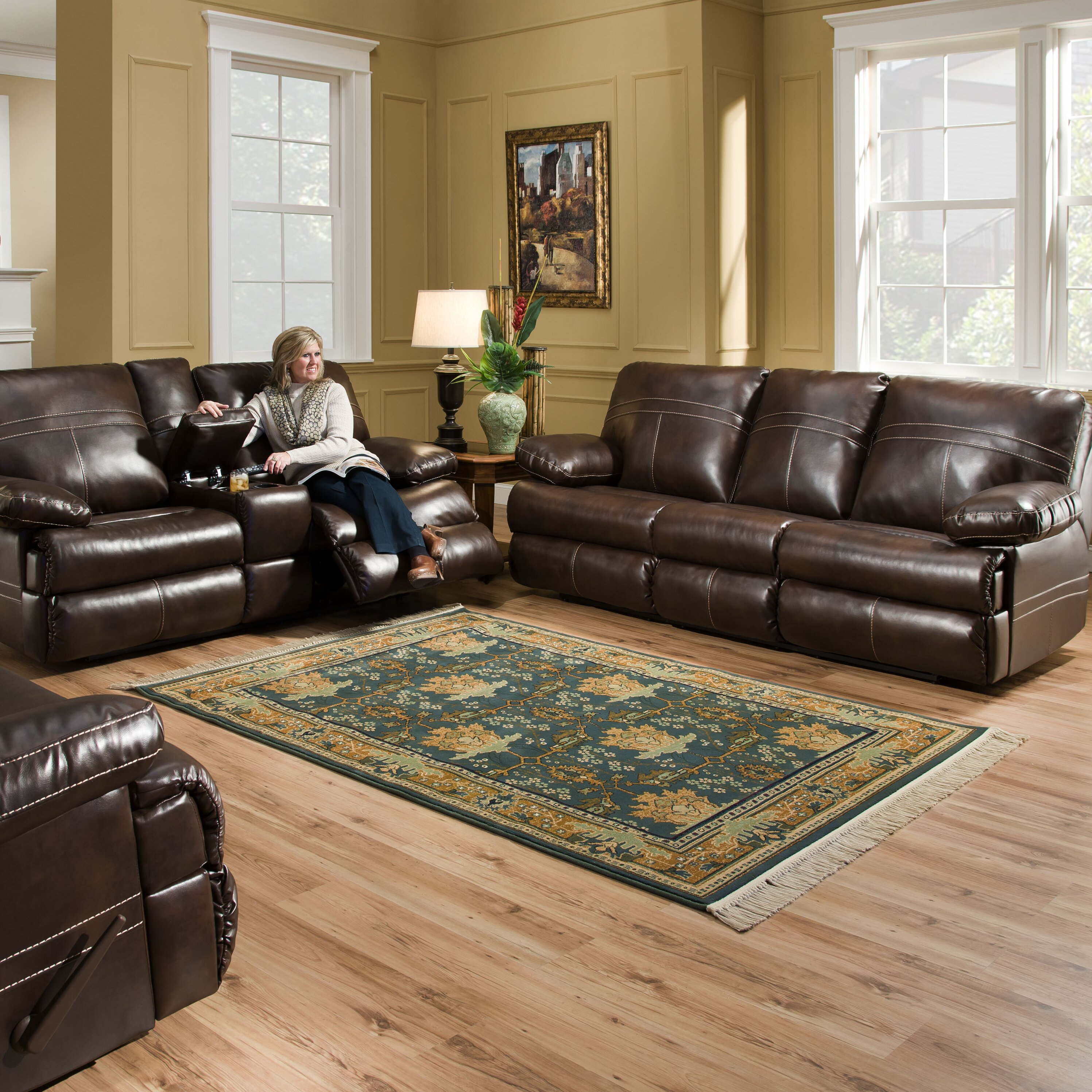 Living Room Furniture Leather And Upholstery Darby Home Co Simmons Upholstery Obryan Sleeper Living Room