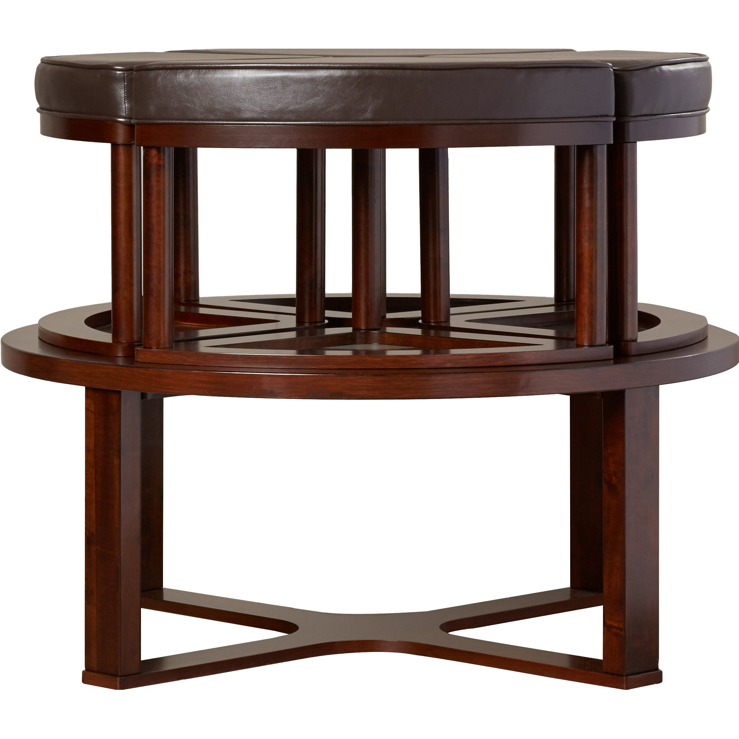 Coffee Table Stool Darby Home Co Eastin 5 Piece Coffee Table And Stool Set Reviews