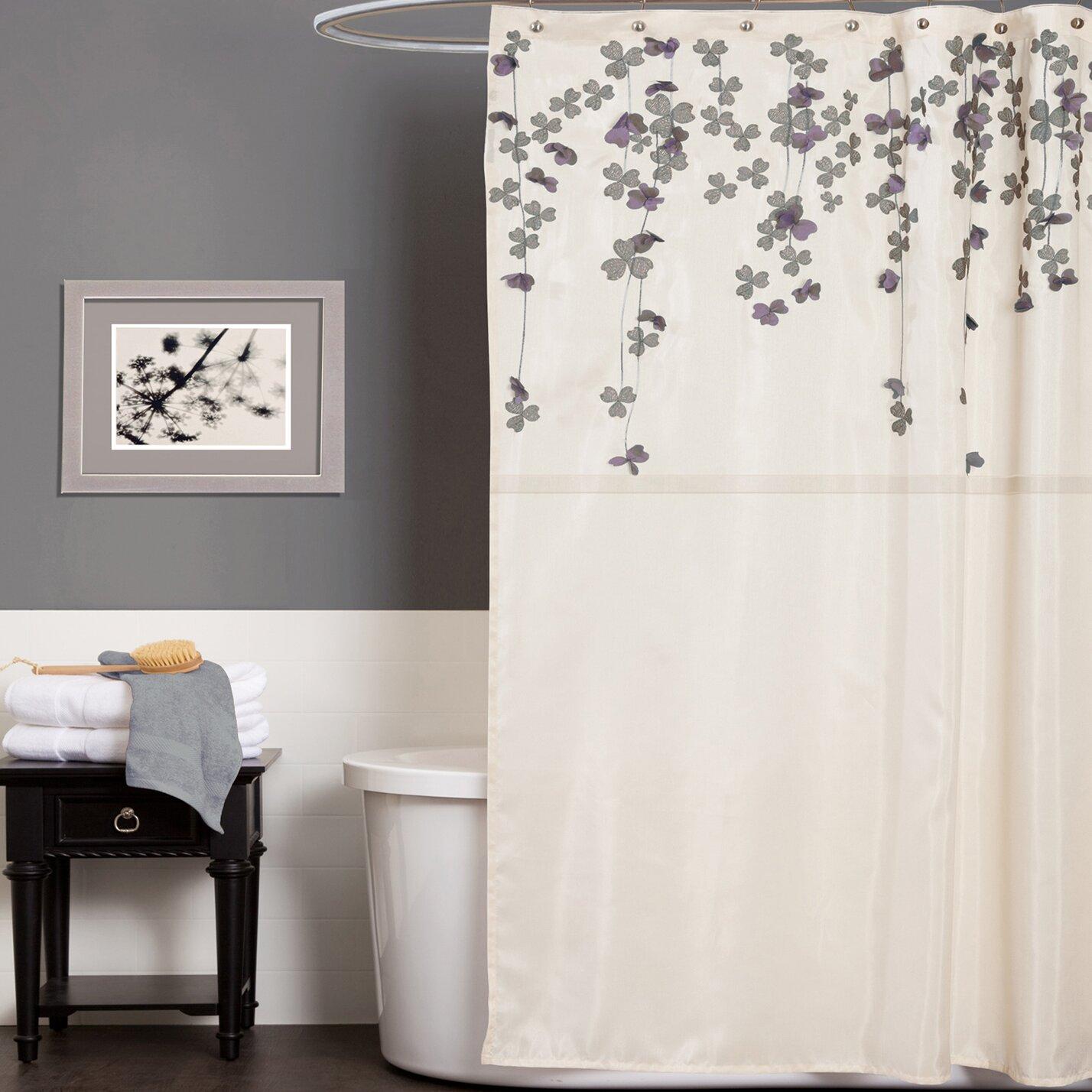Alcott Hill Ravenna Shower Curtain  Reviews Wayfair - Shower curtain