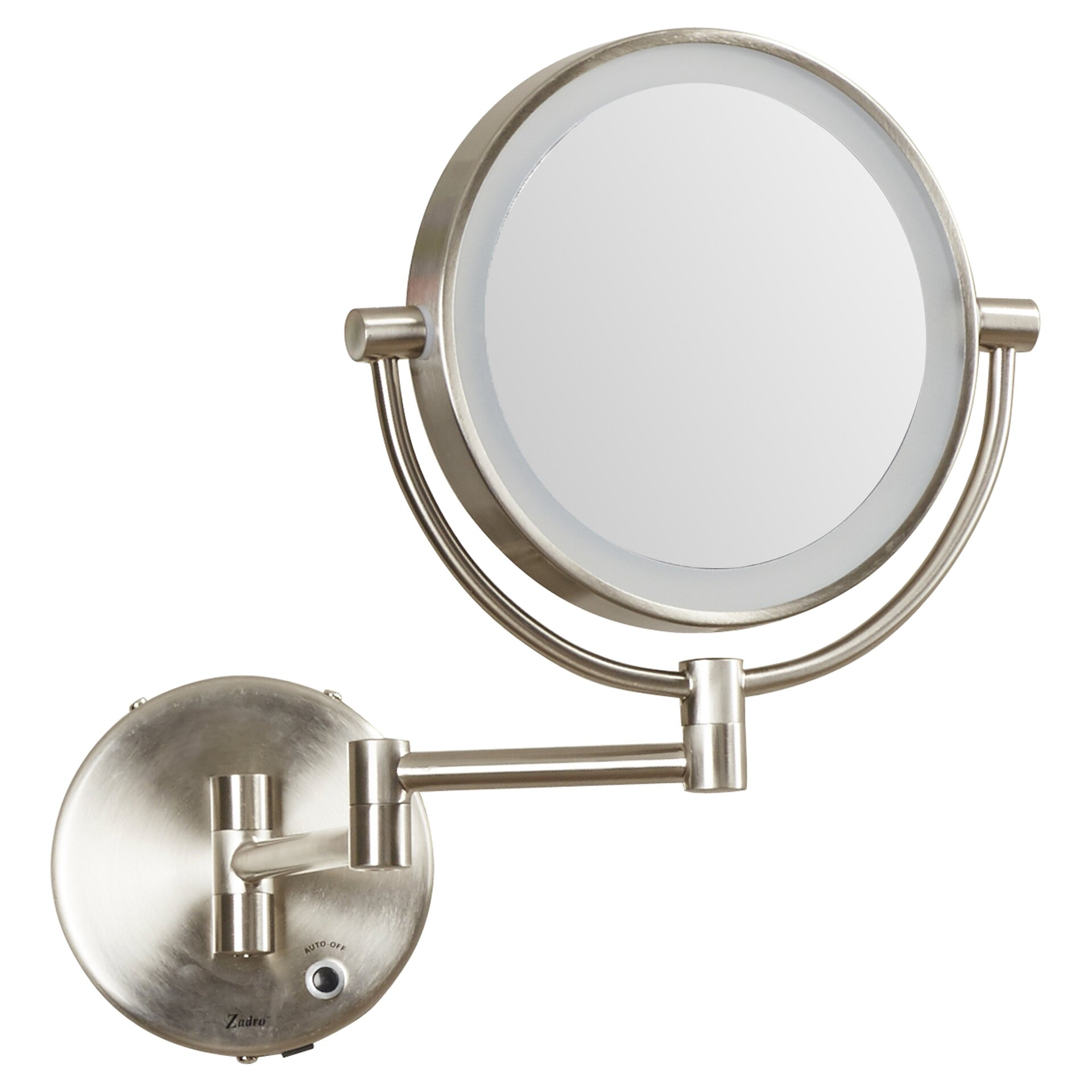 Wall mounted makeup mirror with lights - Varick Gallery Reg Howell Lighted Wall Mount Mirror
