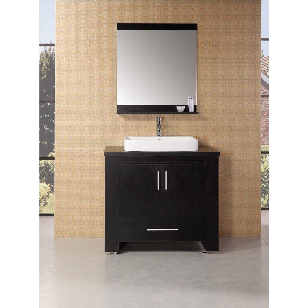 Designer Bathroom Accessories Sets Wade Logan Parsons 36 Single Modern Bathroom Vanity Set With