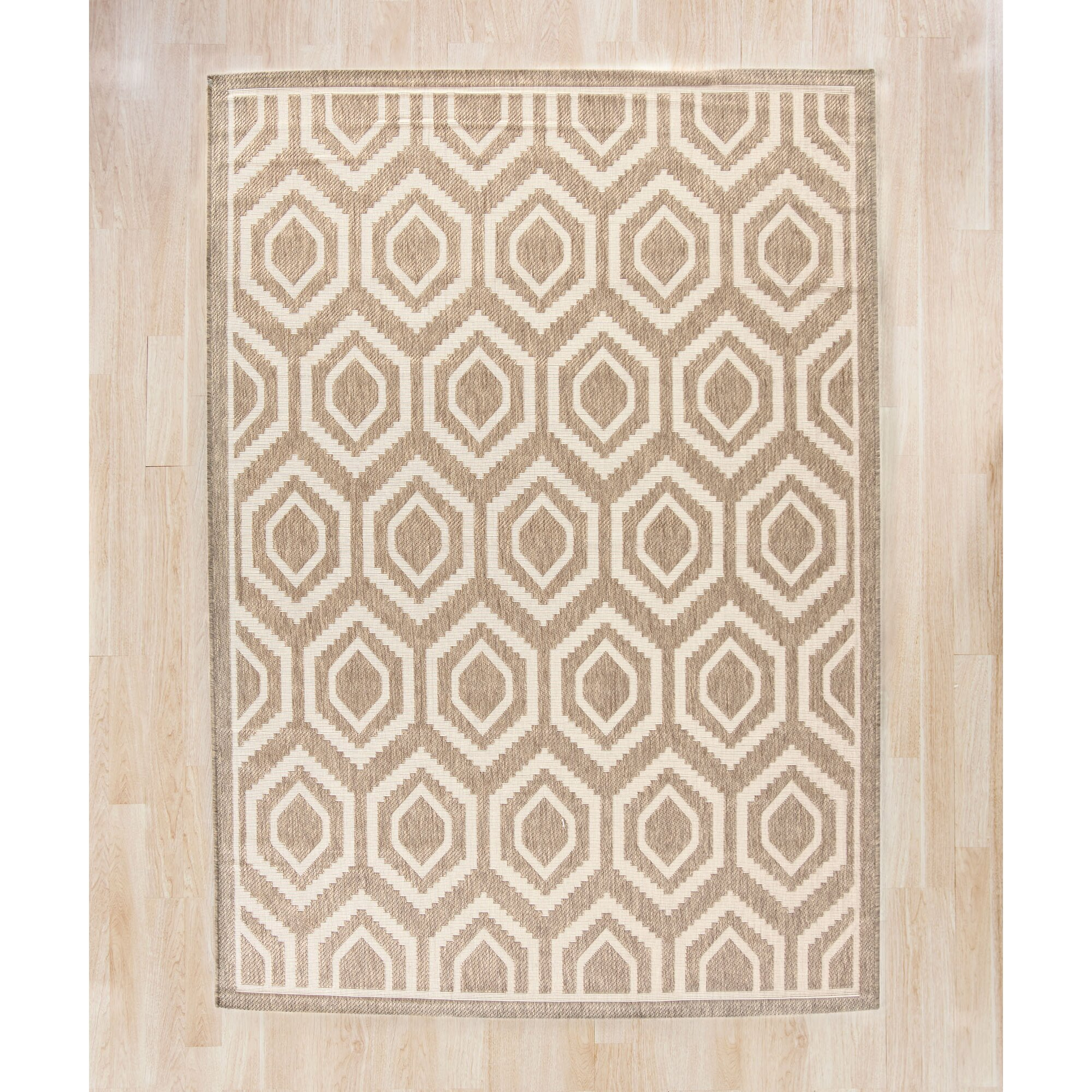 Langley Street Miami Brown/Tan Indoor/Outdoor Area Rug
