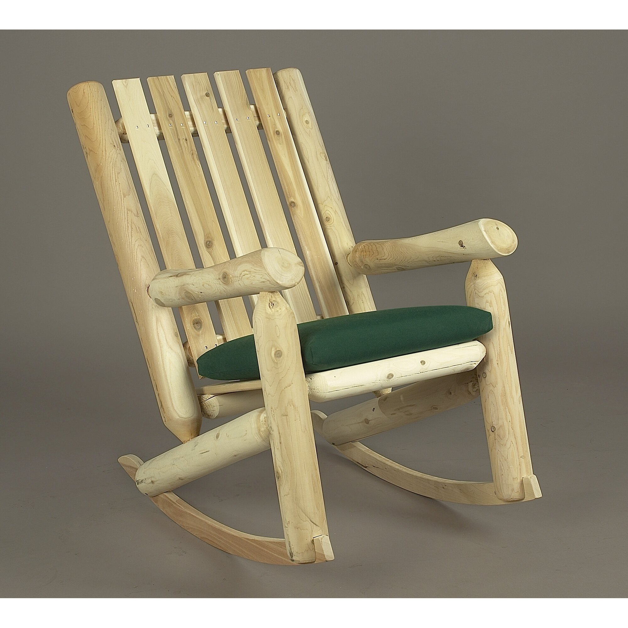 ... Indoor/Outdoor Cedar High Back Rocking Chair & Reviews  Wayfair.ca