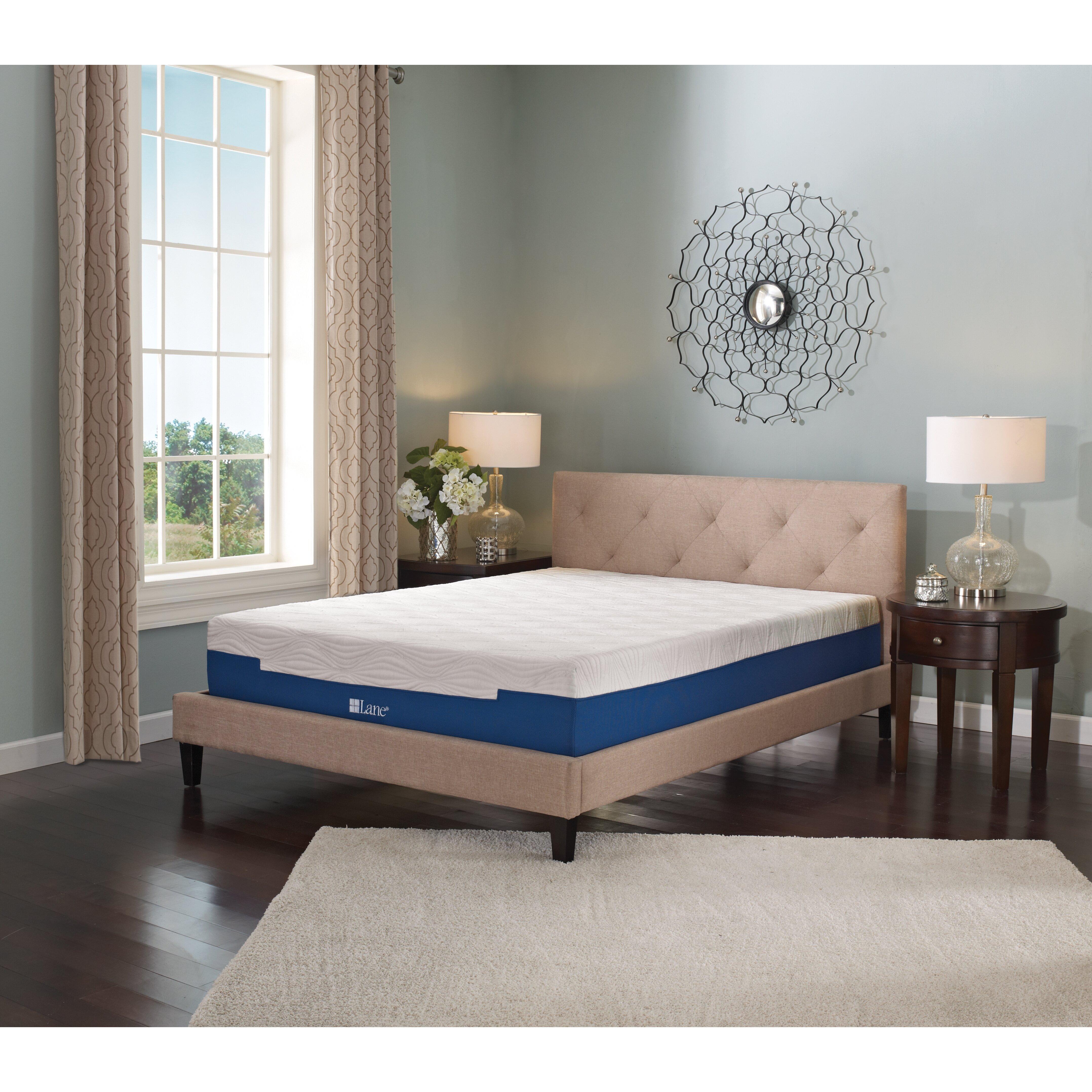 Lane Furniture Bedroom Lane Furniture 7 Memory Foam Mattress Reviews Wayfair