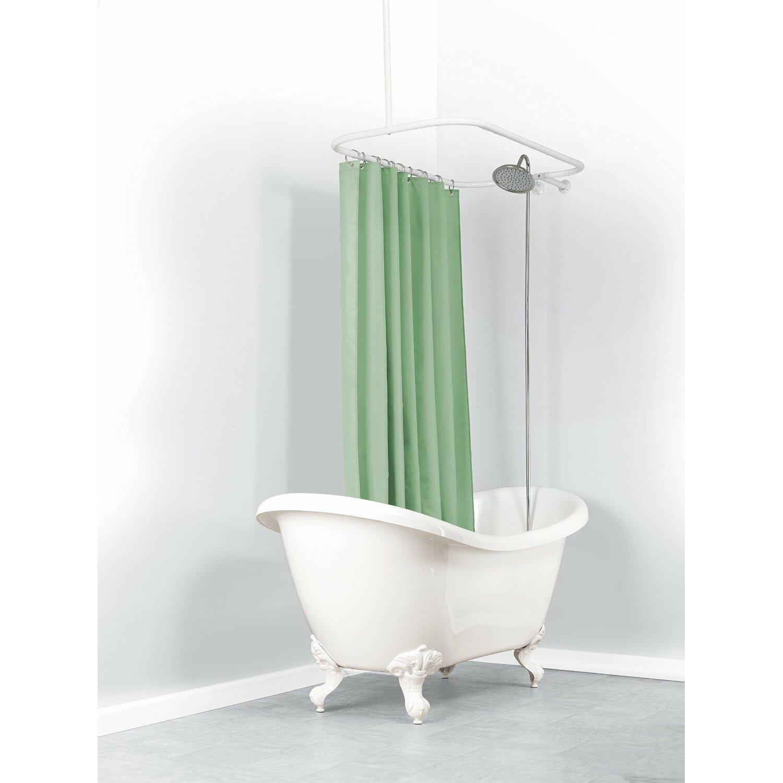 Curved Shower Curtain Rod Height Curtain Menzilperde Net