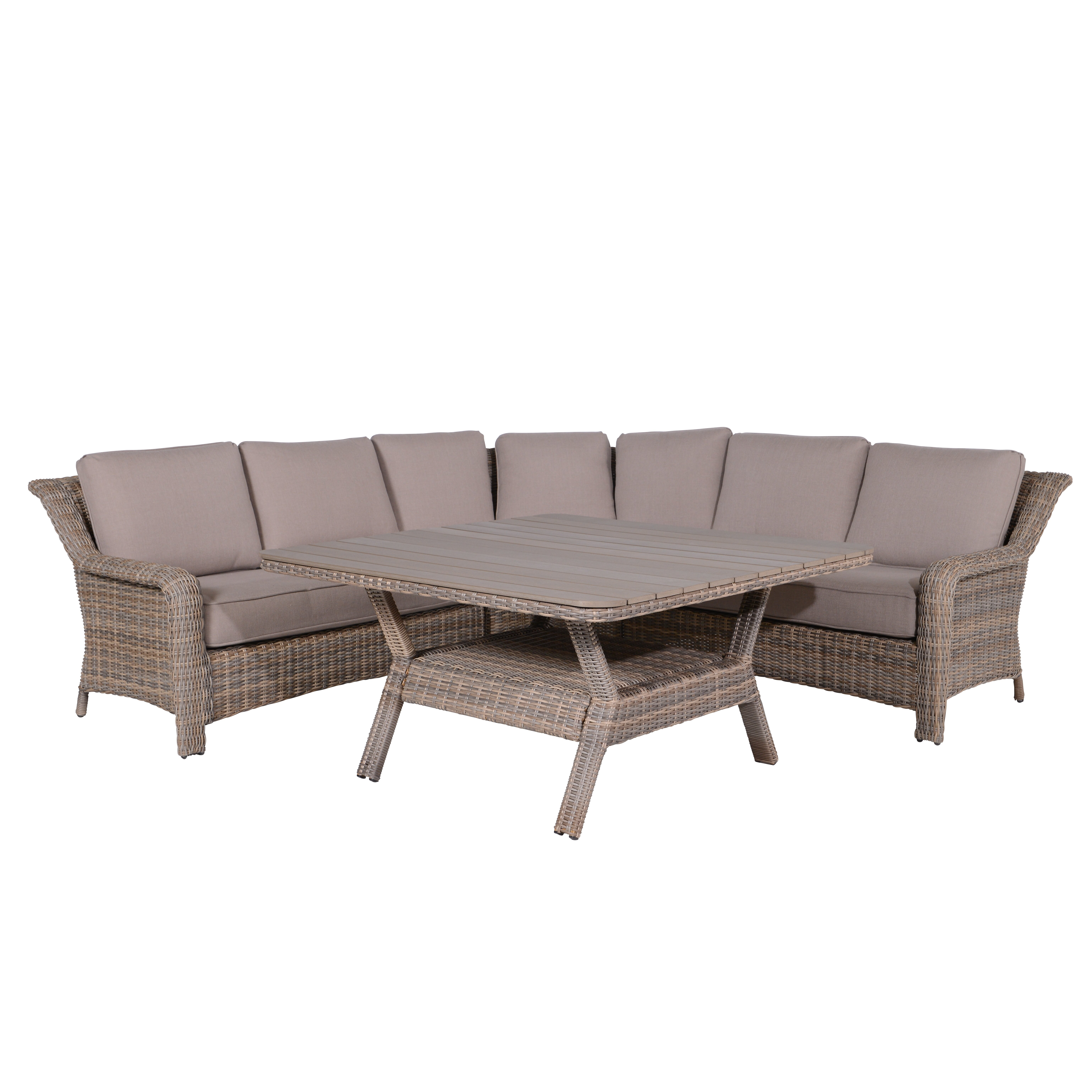wildon home 7 sitzer essgruppe jade mit polster. Black Bedroom Furniture Sets. Home Design Ideas